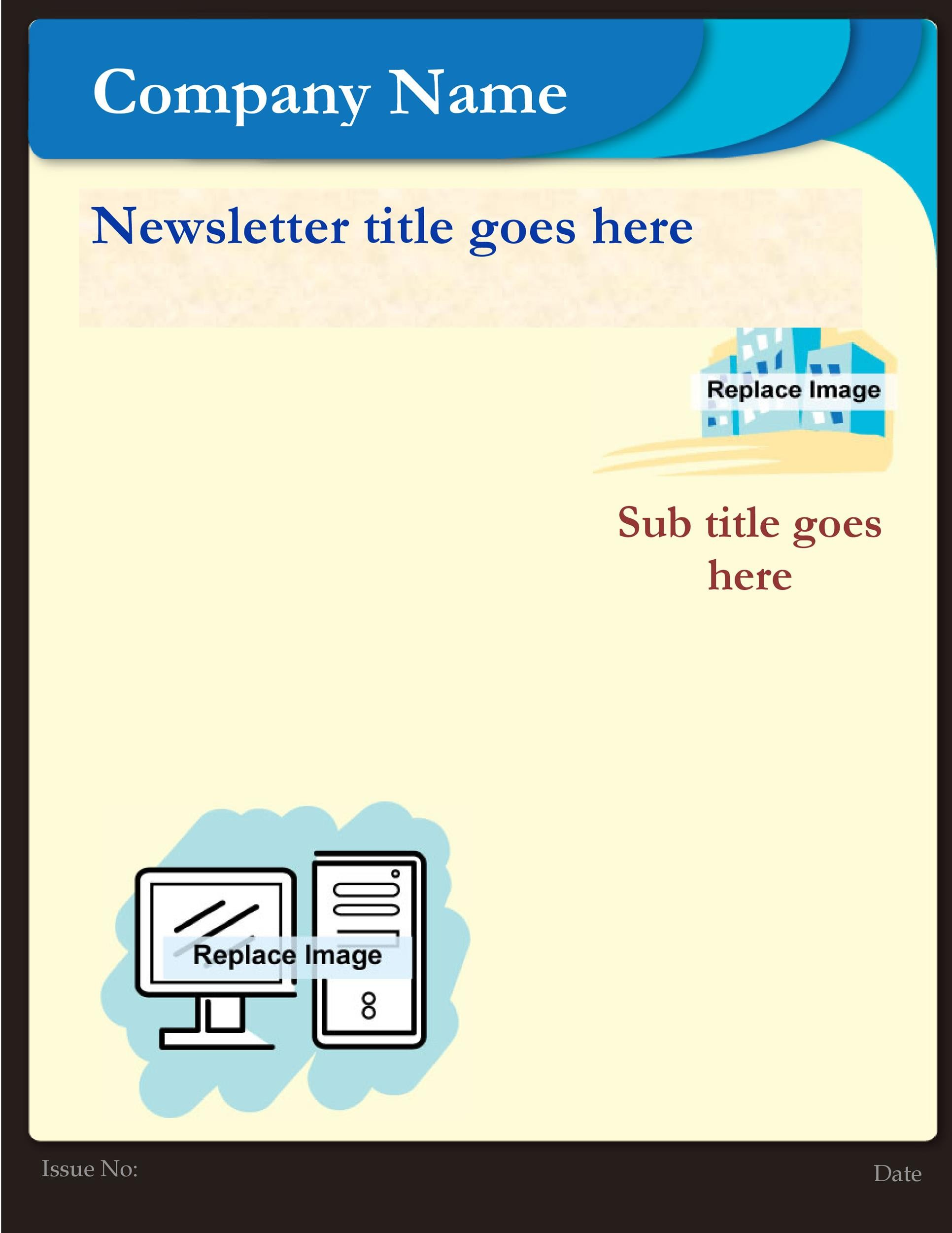 Free Newsletter Template 02