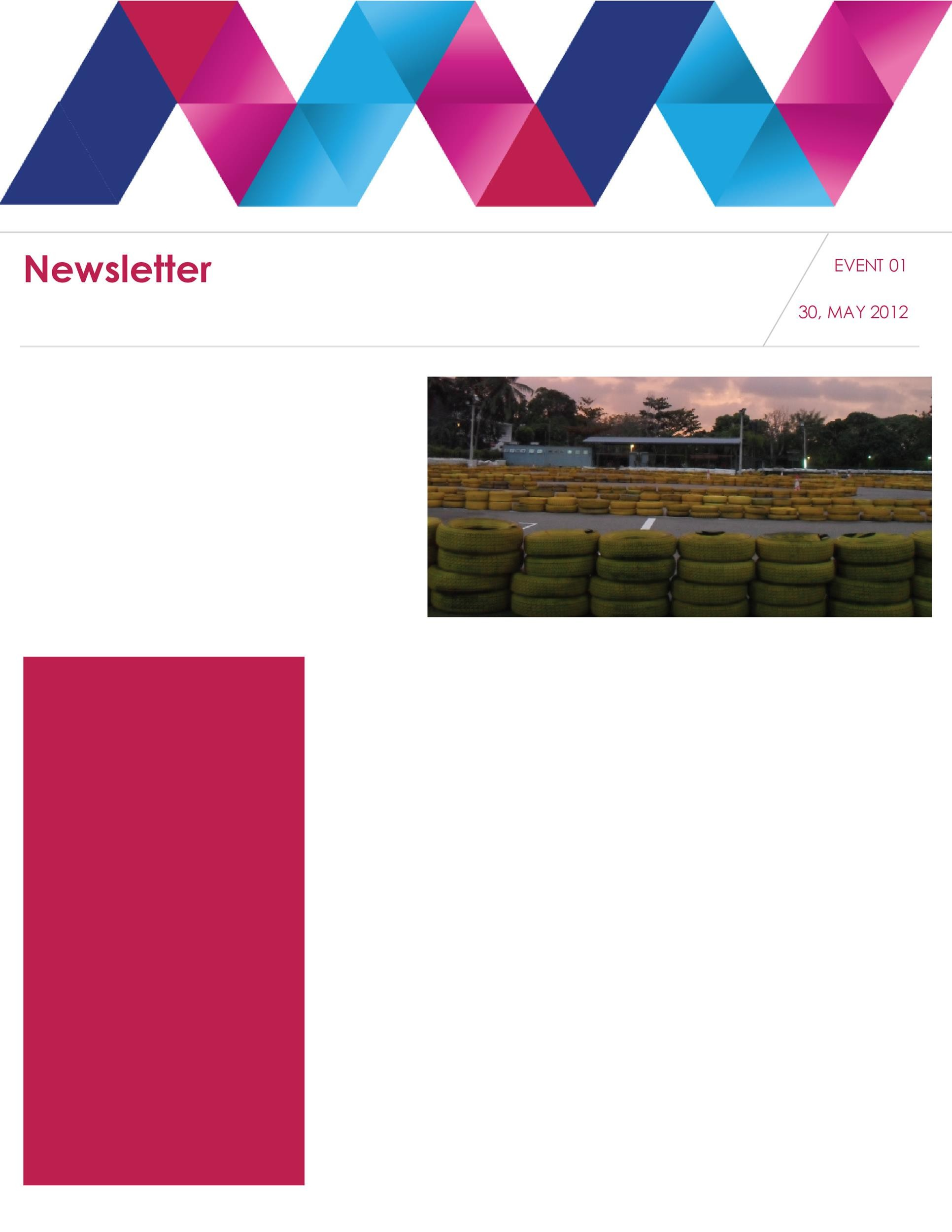 Free Newsletter Template 03