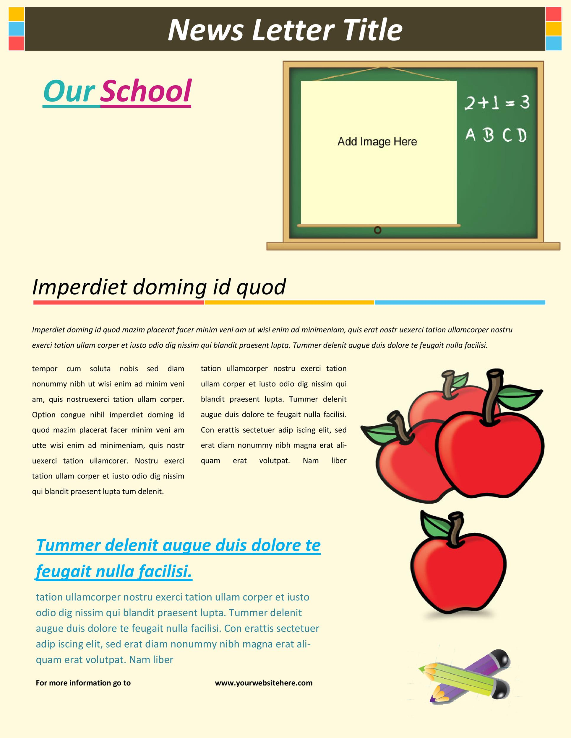 Newsletter Template 05