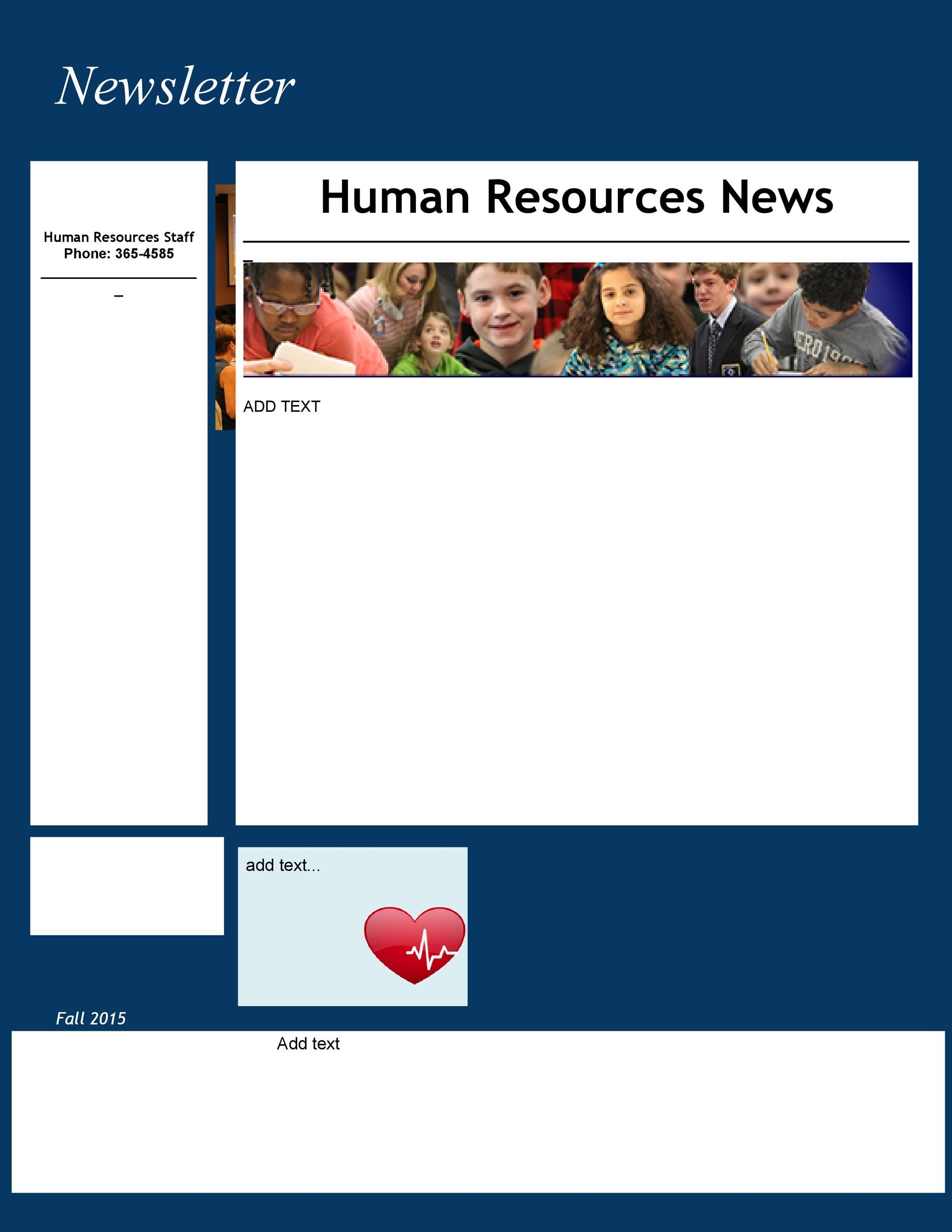 Free Newsletter Template 48