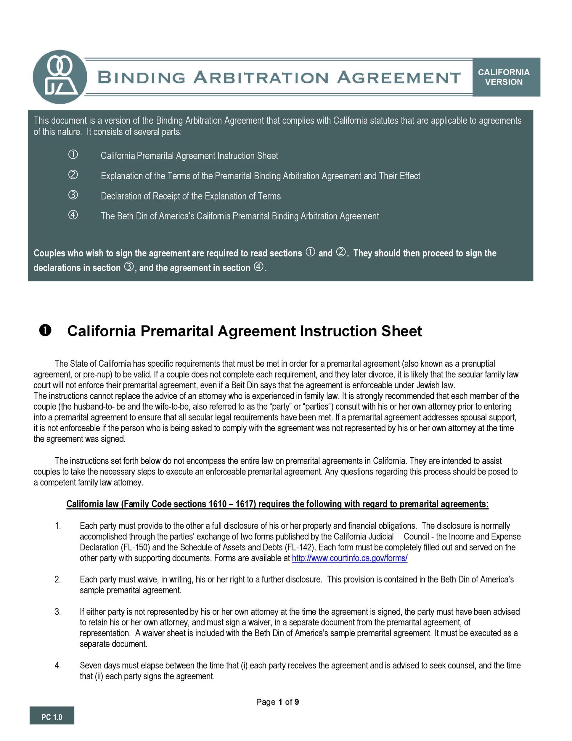 Free Prenuptial Agreement Template 02