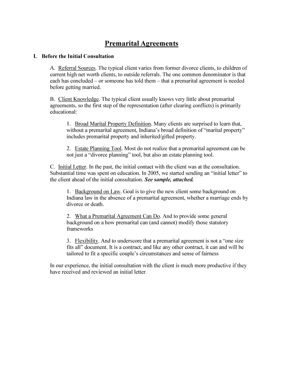 Free Prenuptial Agreement Template 28