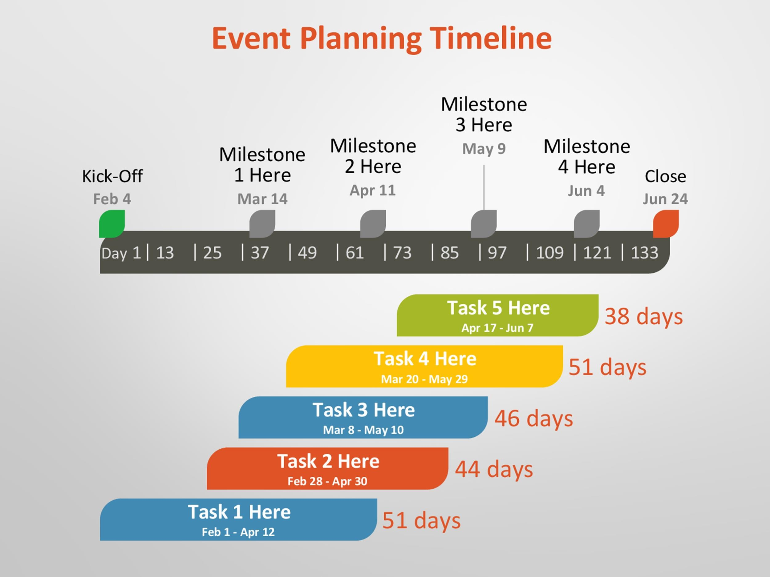 Free Timeline Template 14
