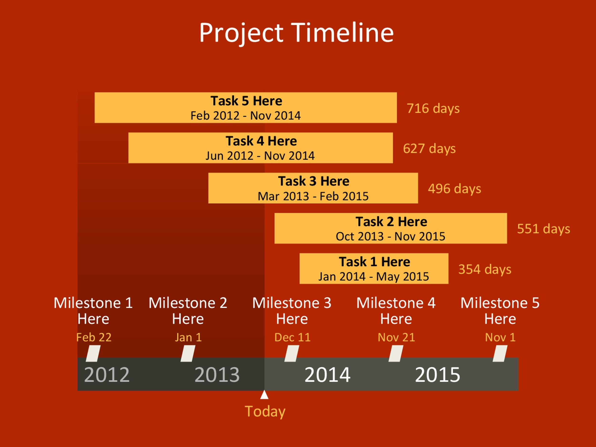 Timeline Template 18