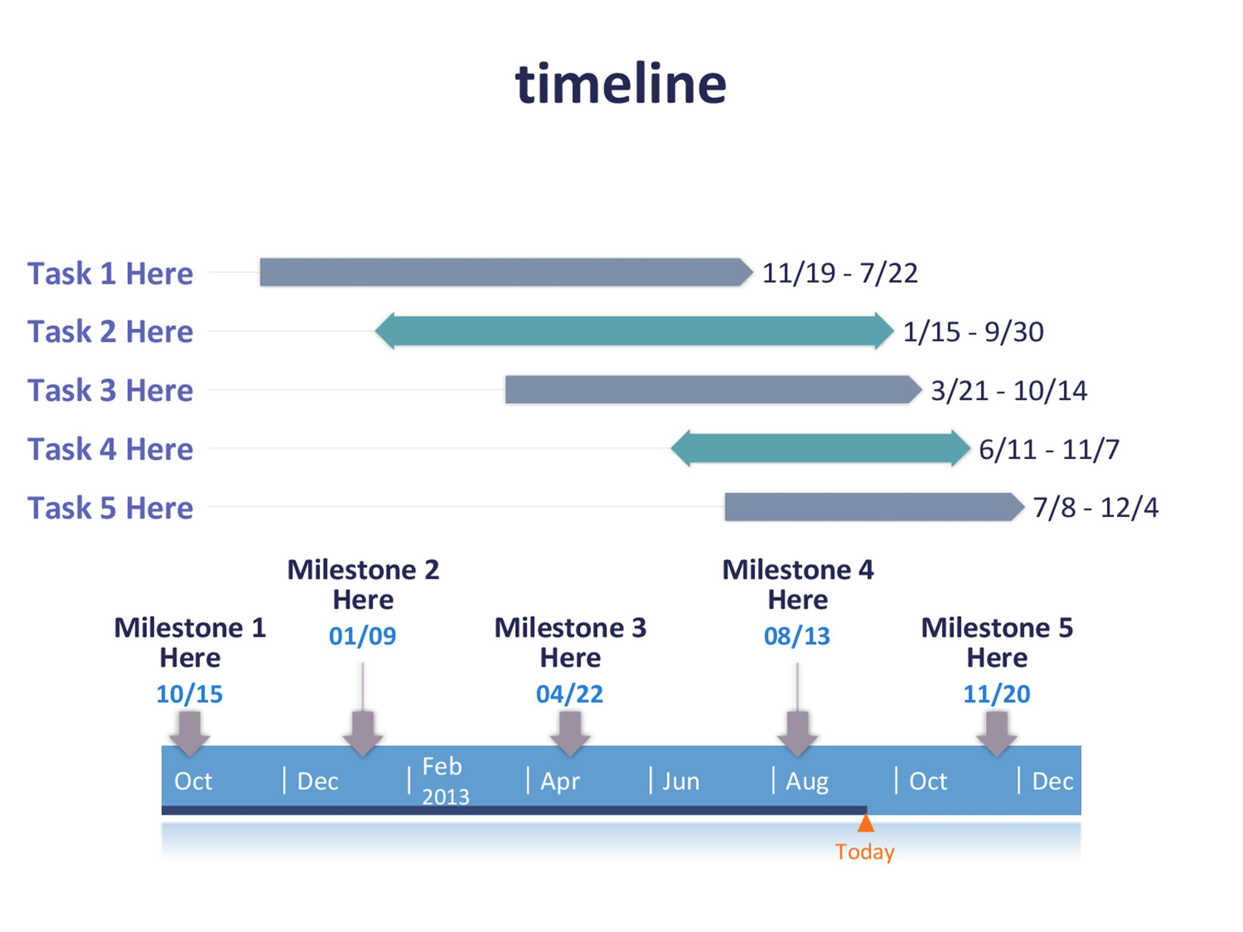 Simple Timeline Template Simple Timeline Template Gantt Chart