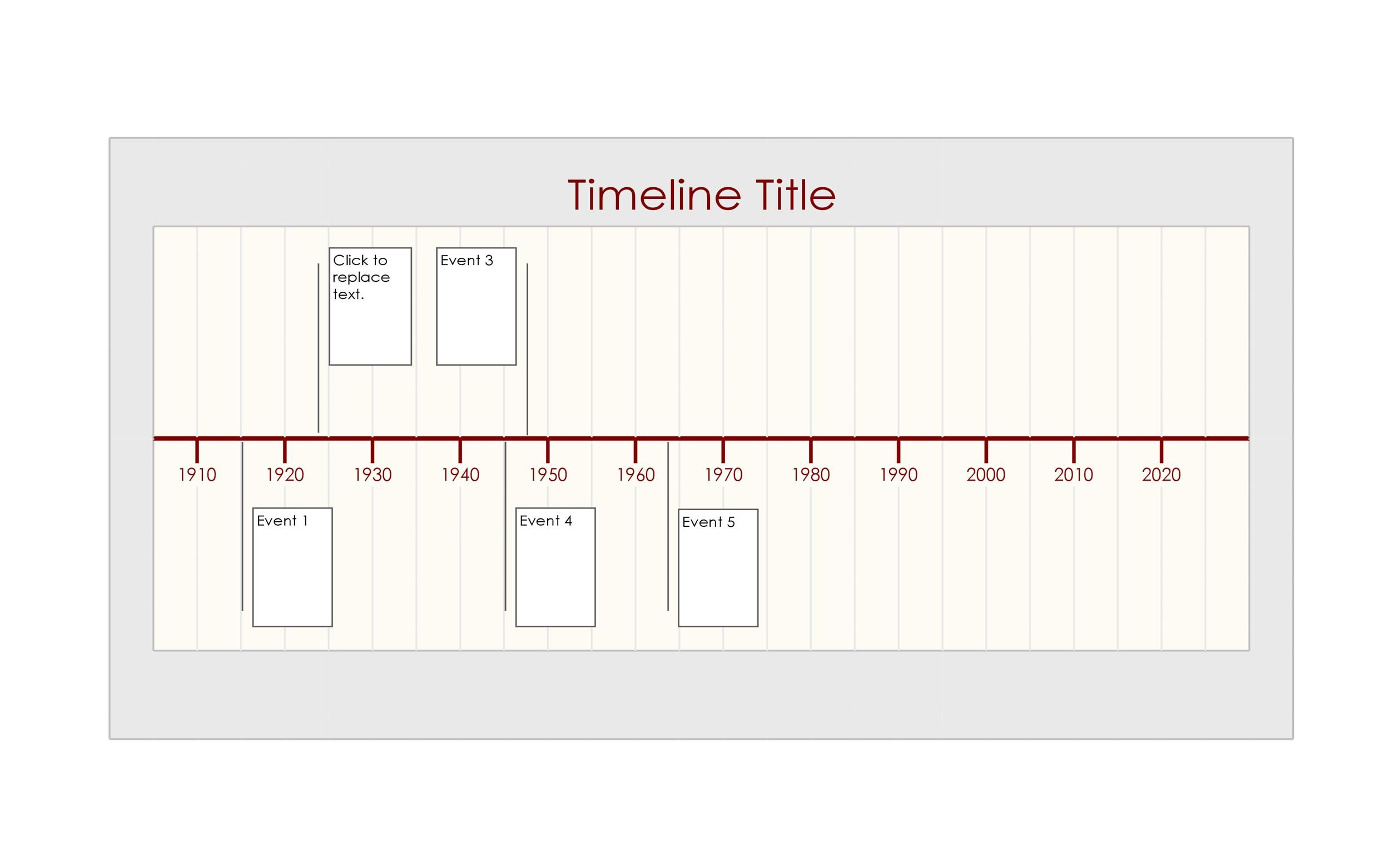 Free Timeline Template 31