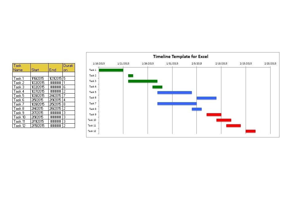 Free Timeline Template 33