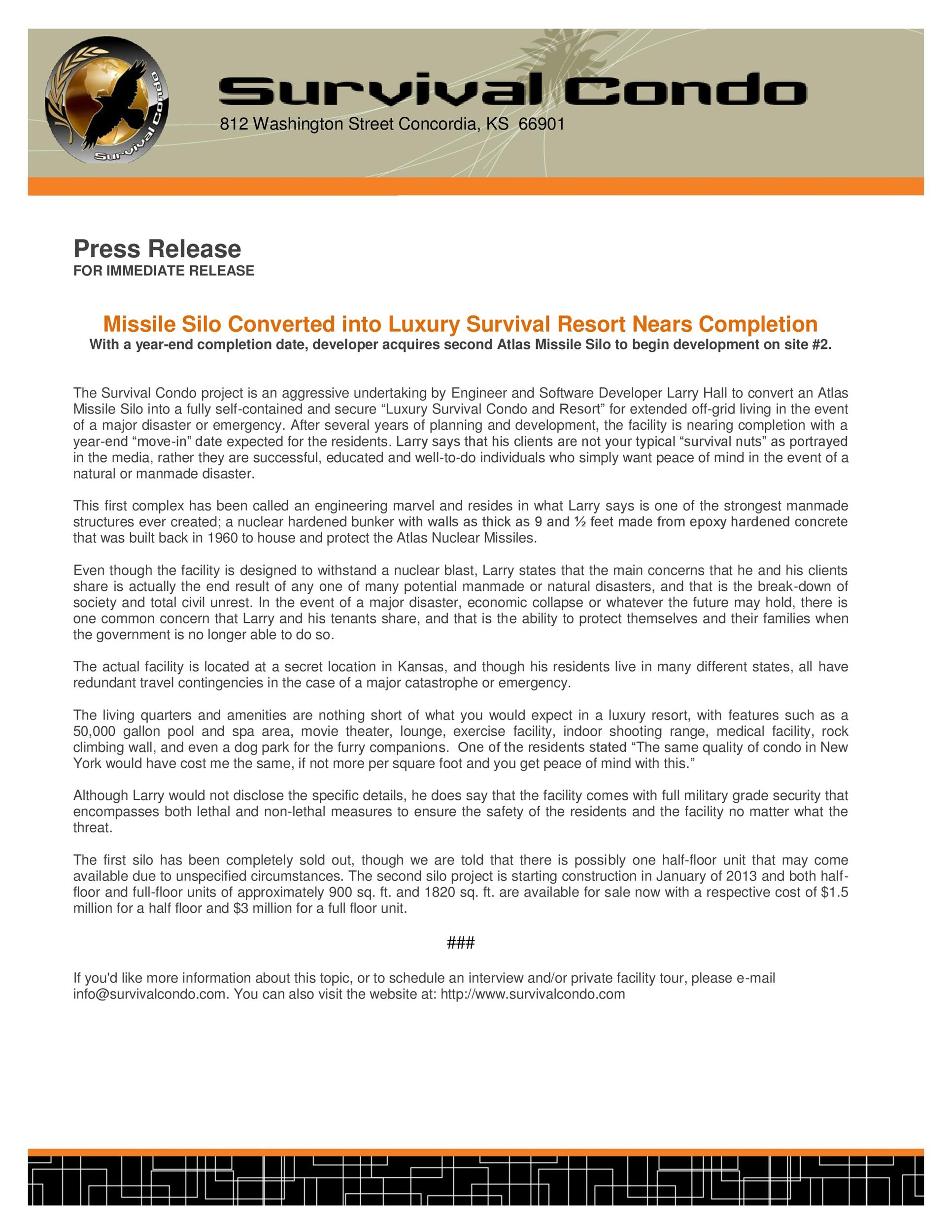 free press release template 45