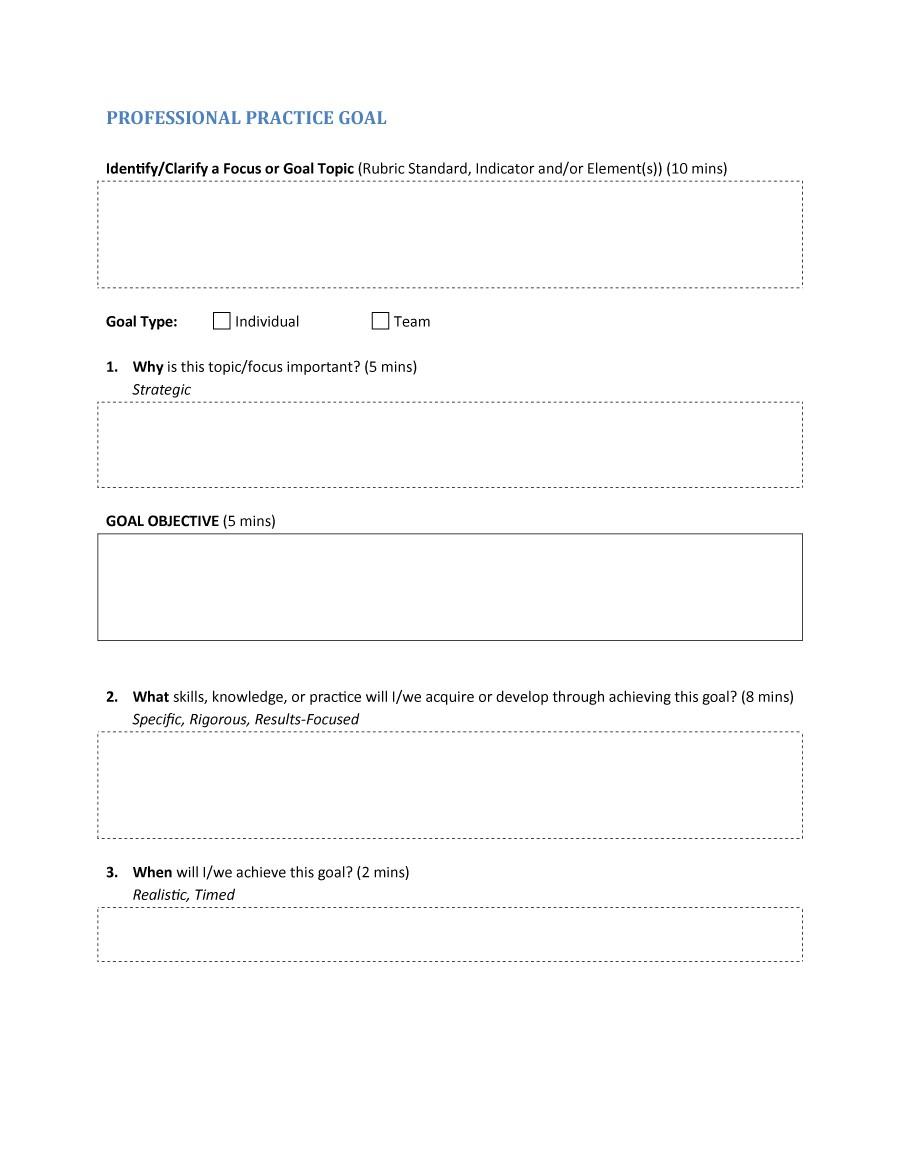 smart goals templates examples worksheets template lab smart goals template 29