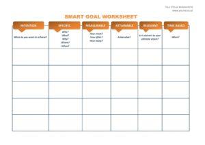smart goals template 46