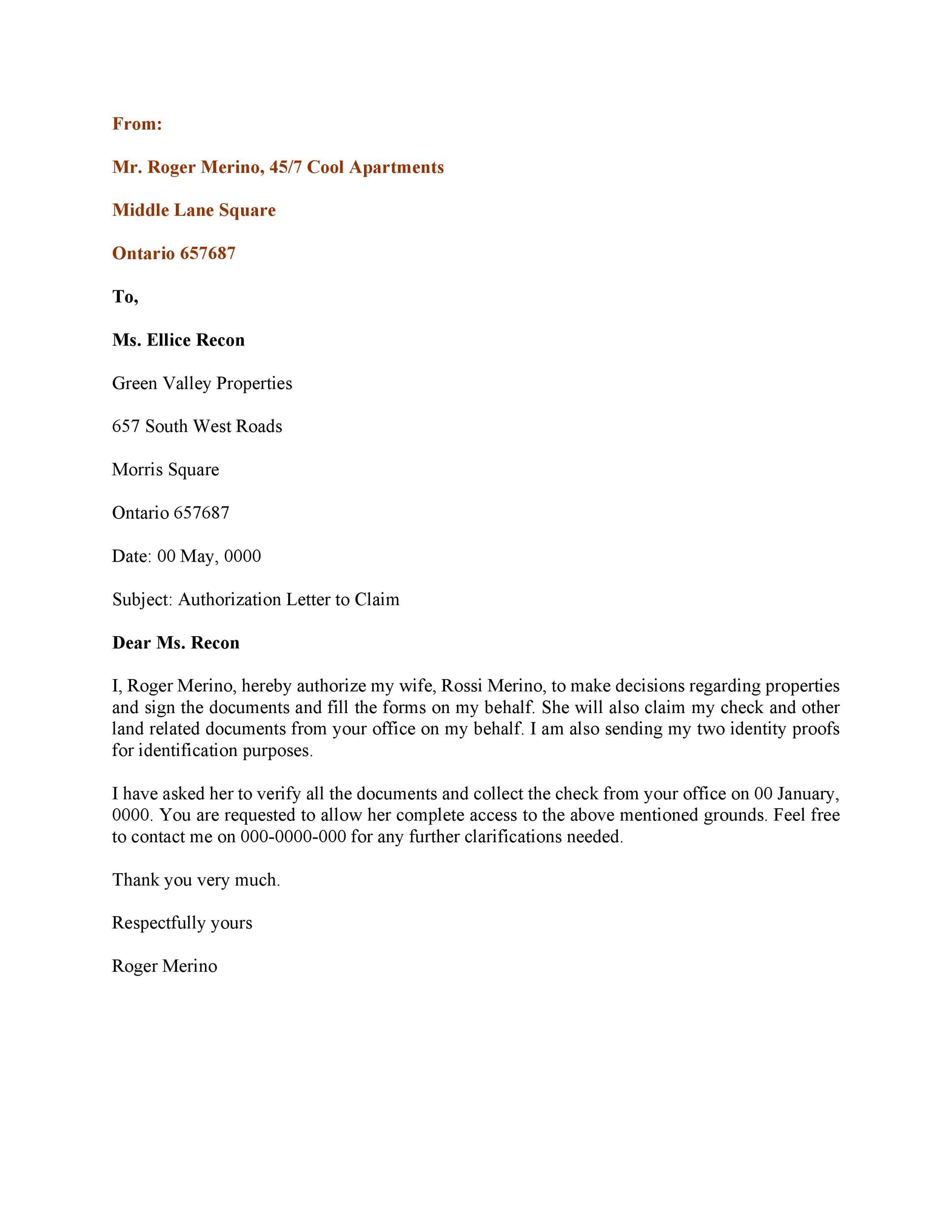 Authorization Letter House authorization letter likewise bank – Sample Letter of Authorization