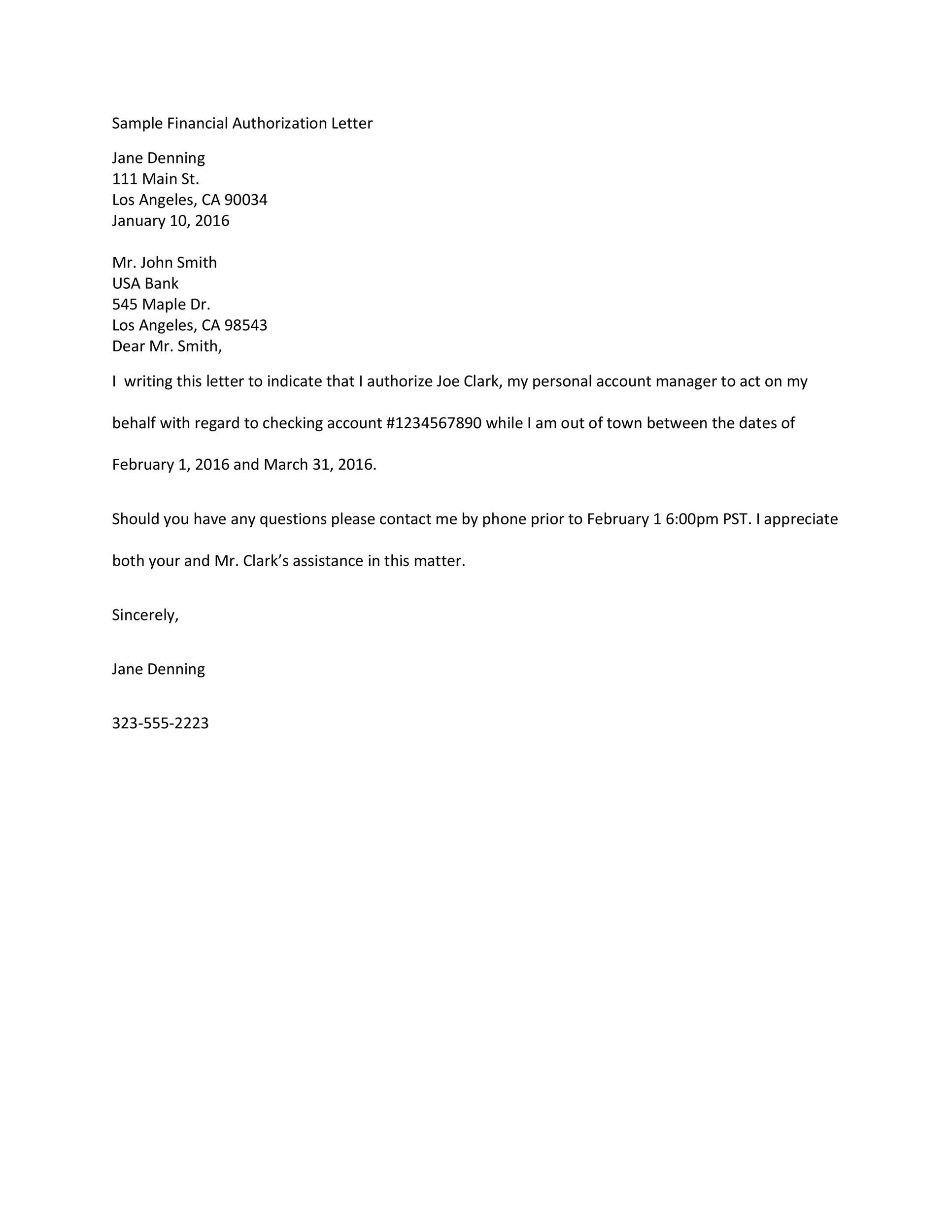 printable authorization letter 13