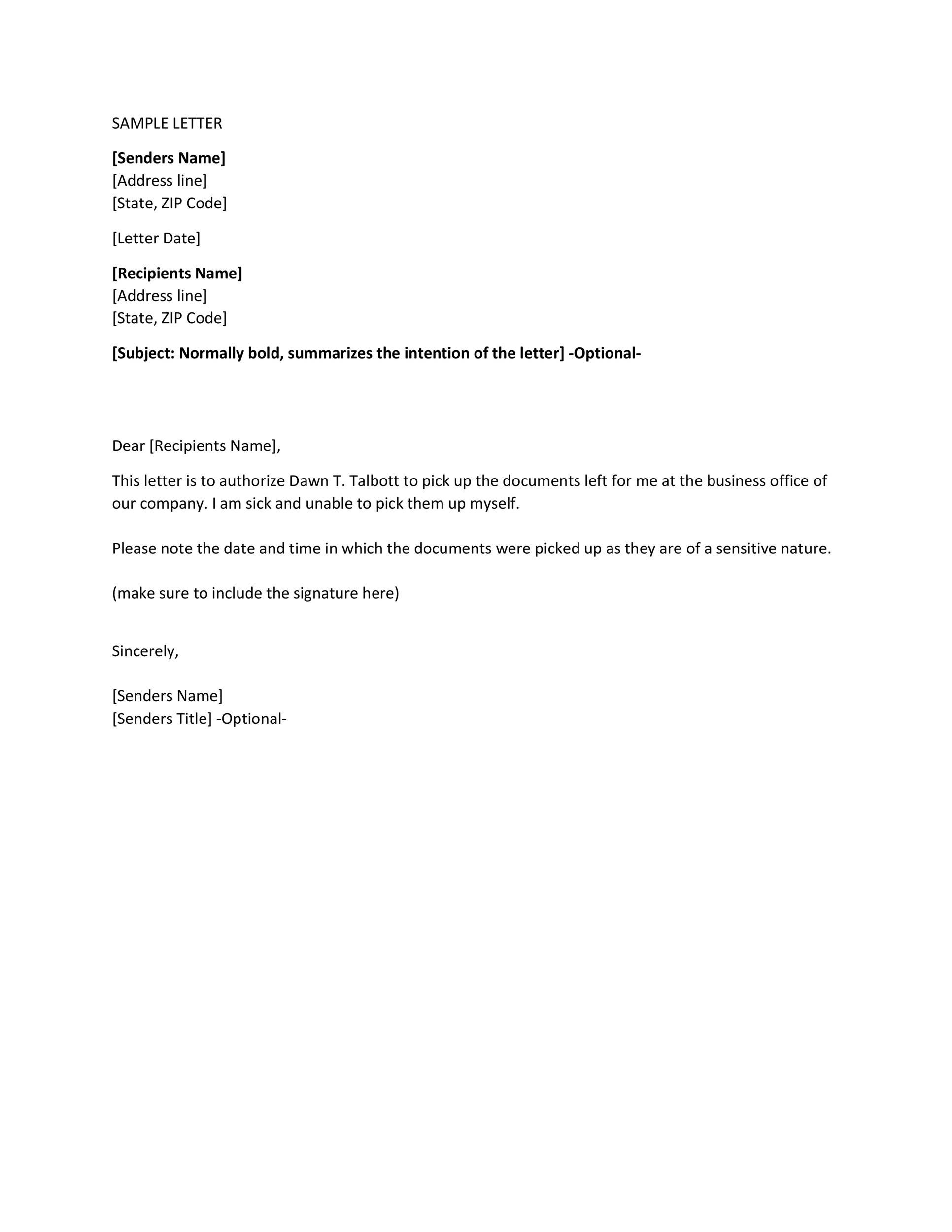 Delegation Of Disclosure Authority Letter from templatelab.com