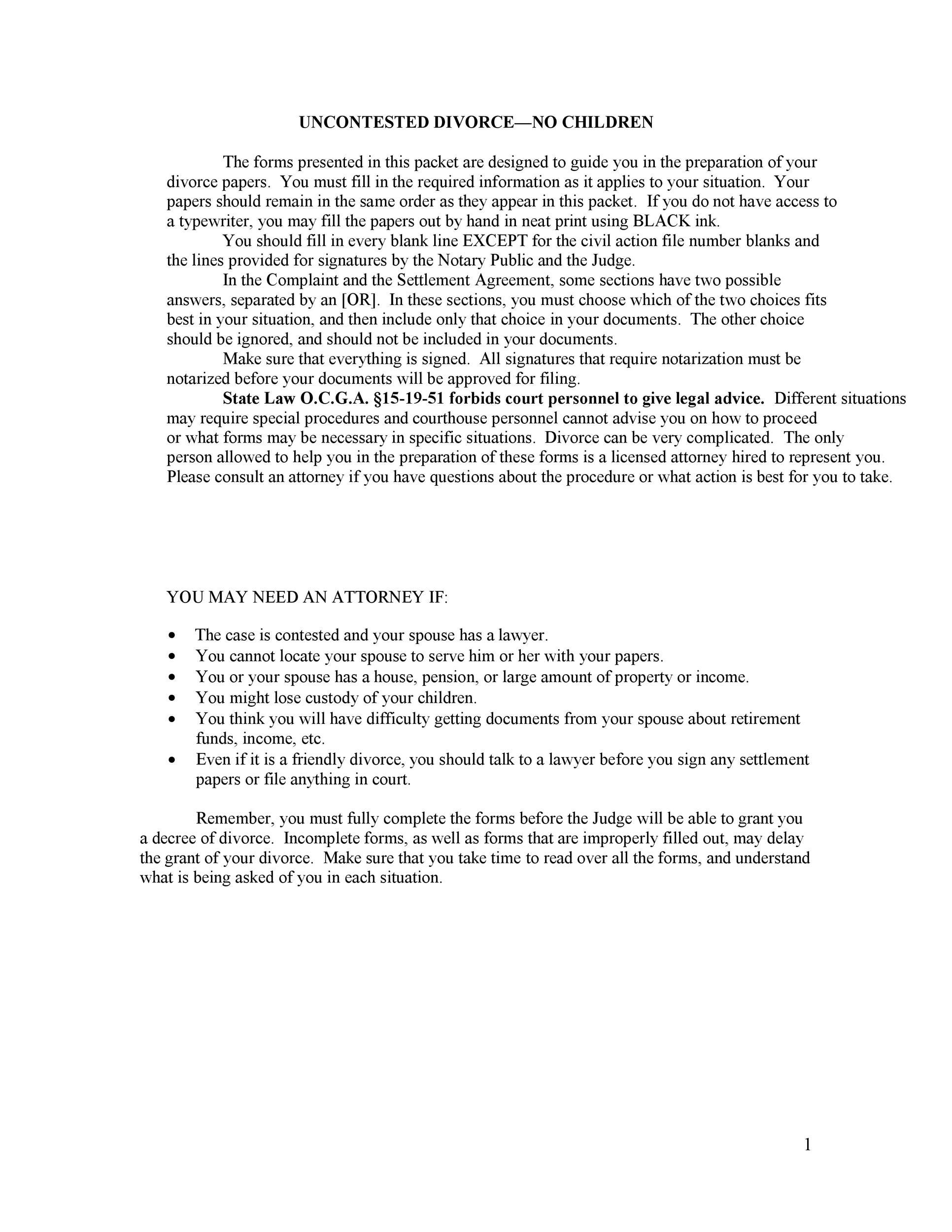 40 free divorce papers printable template lab. Black Bedroom Furniture Sets. Home Design Ideas
