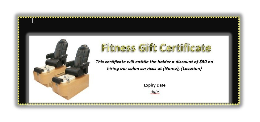 40 Free Gift Certificate Templates Template Lab – Fitness Gift Certificate Template