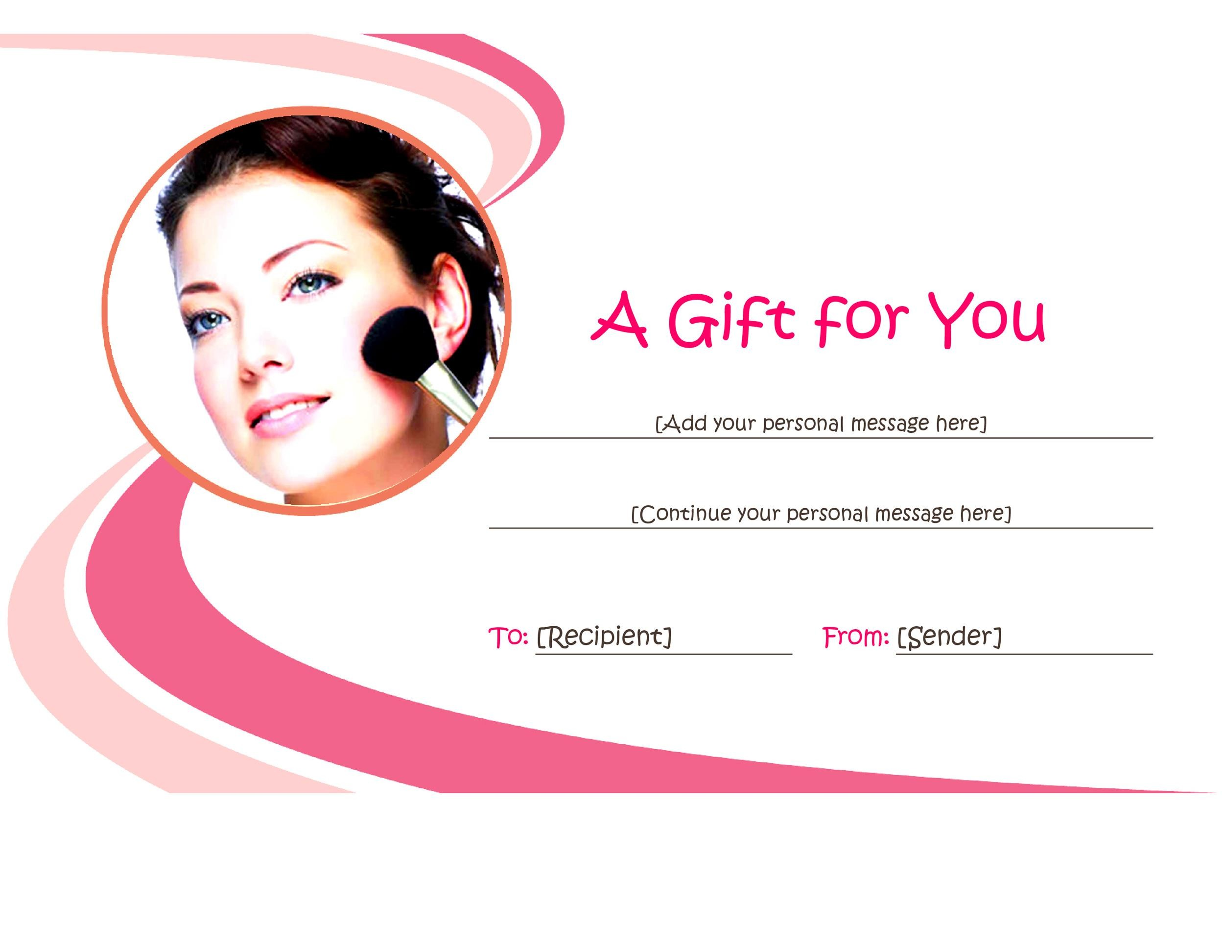 Free Gift Certificate Template 27