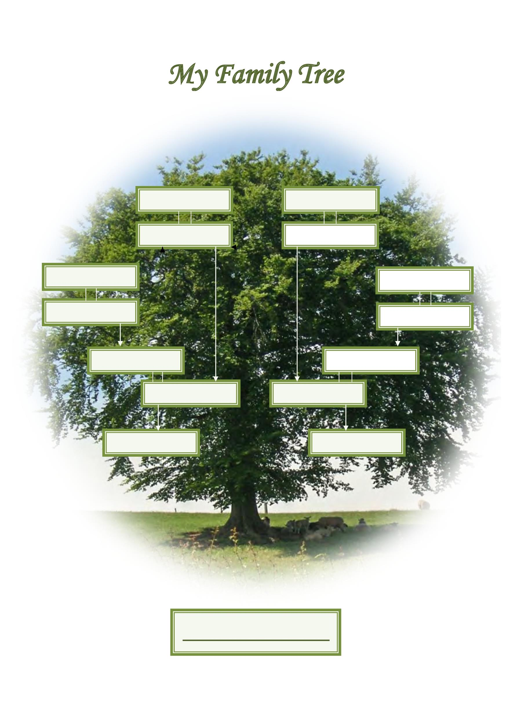 Free family tree template 28