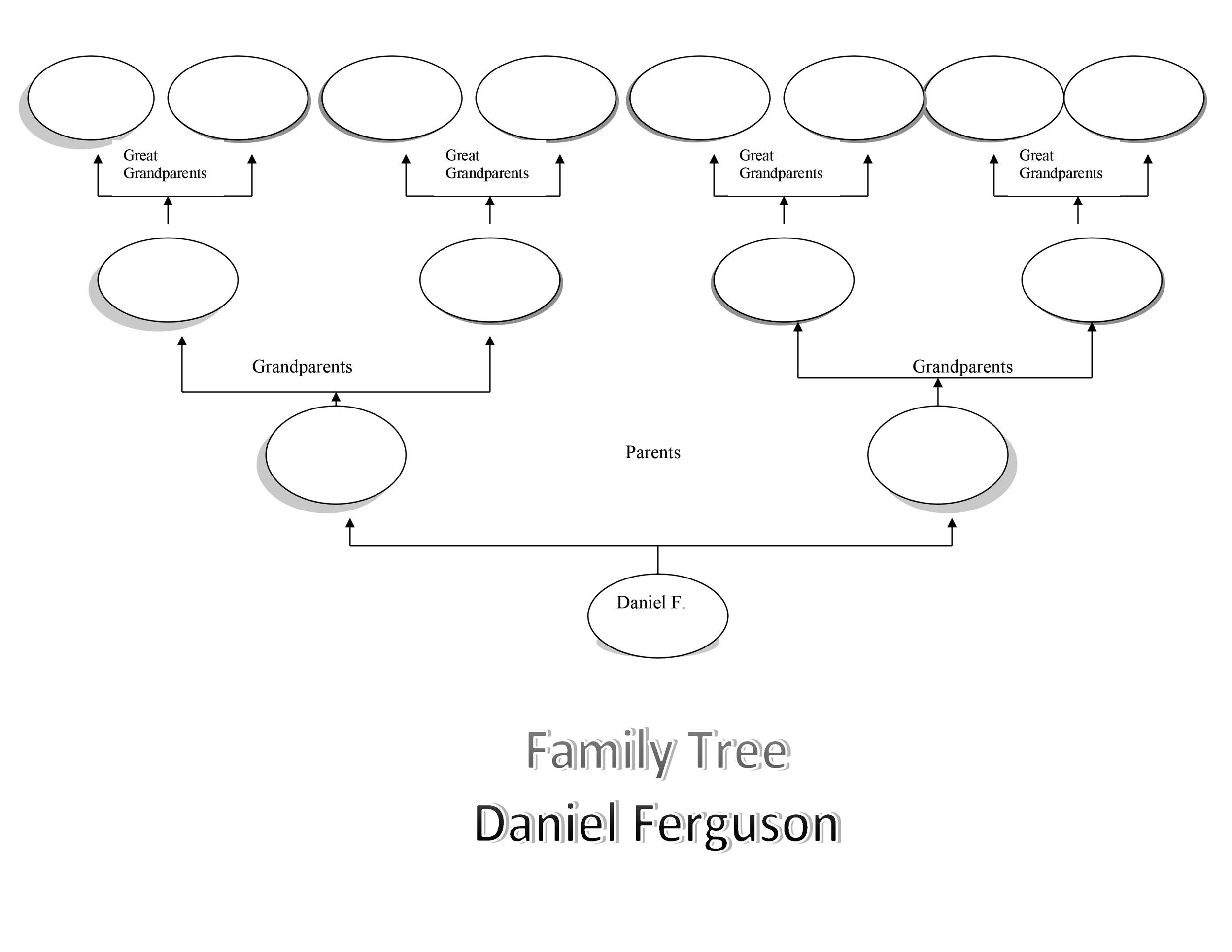 This is a graphic of Free Printable Tree Template intended for 4 branch template