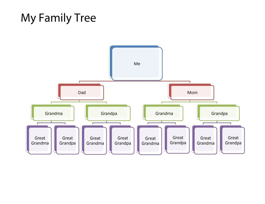 Free family tree template 37