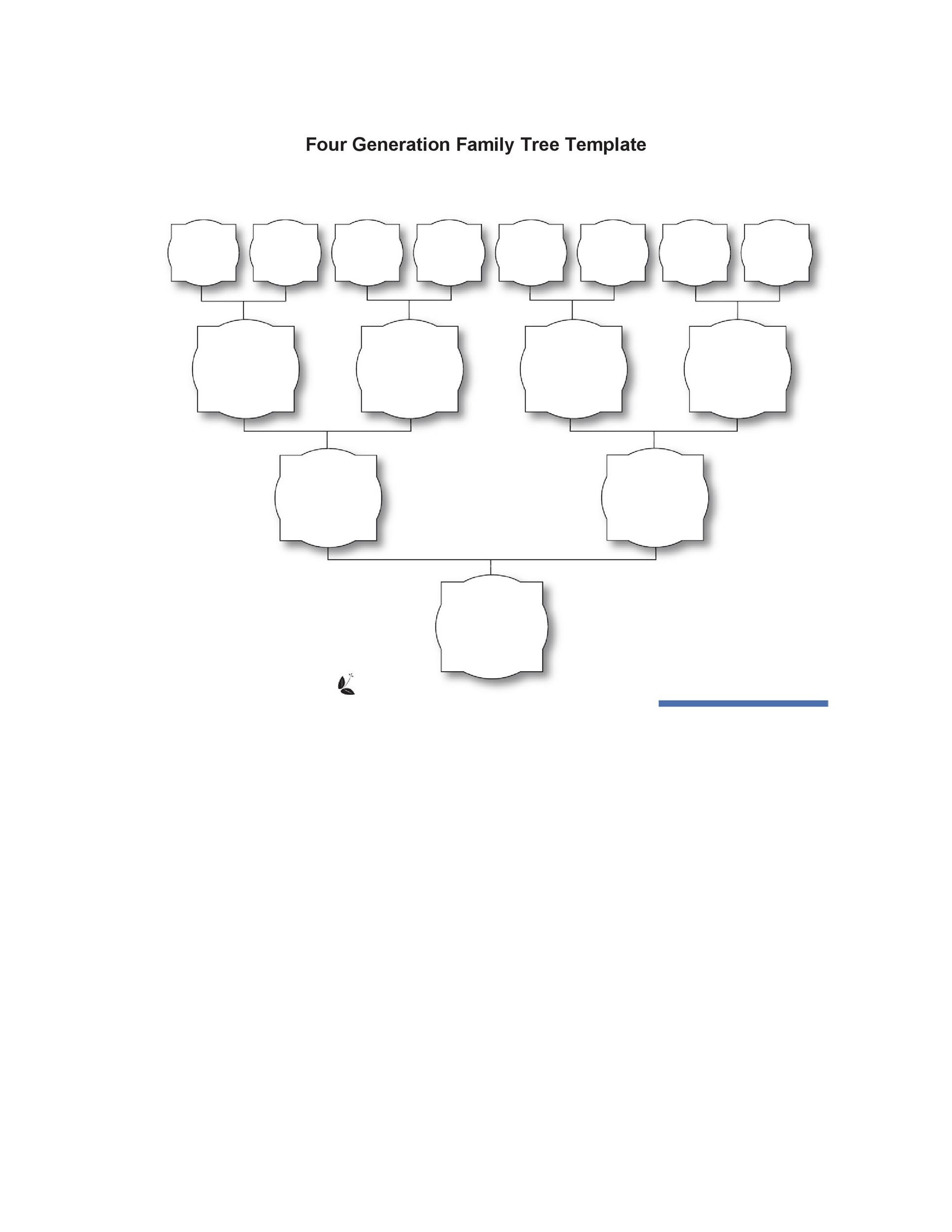 Free Family Tree Template 38