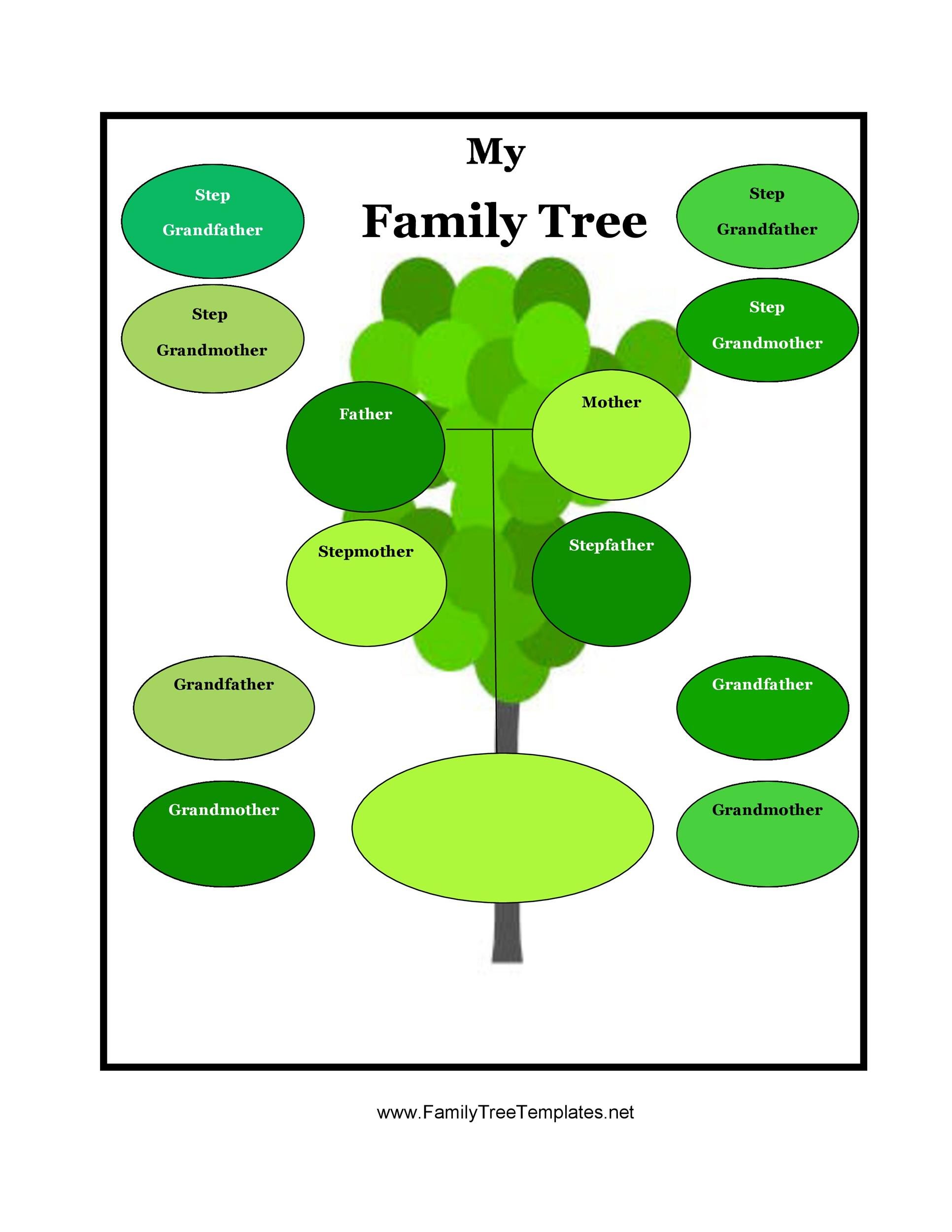 Free family tree template 42