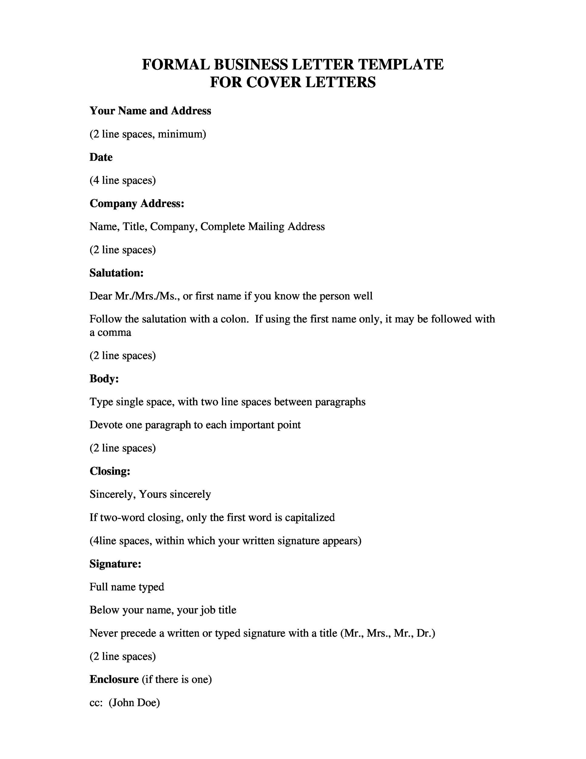 printable formal business letter 02