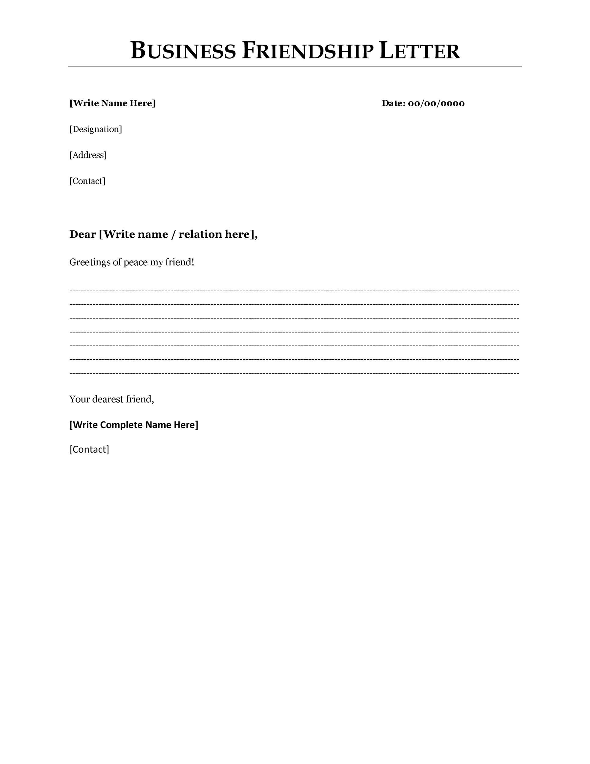 template for business letter 35 formal business letter format templates amp examples 25055 | formal business letter 14