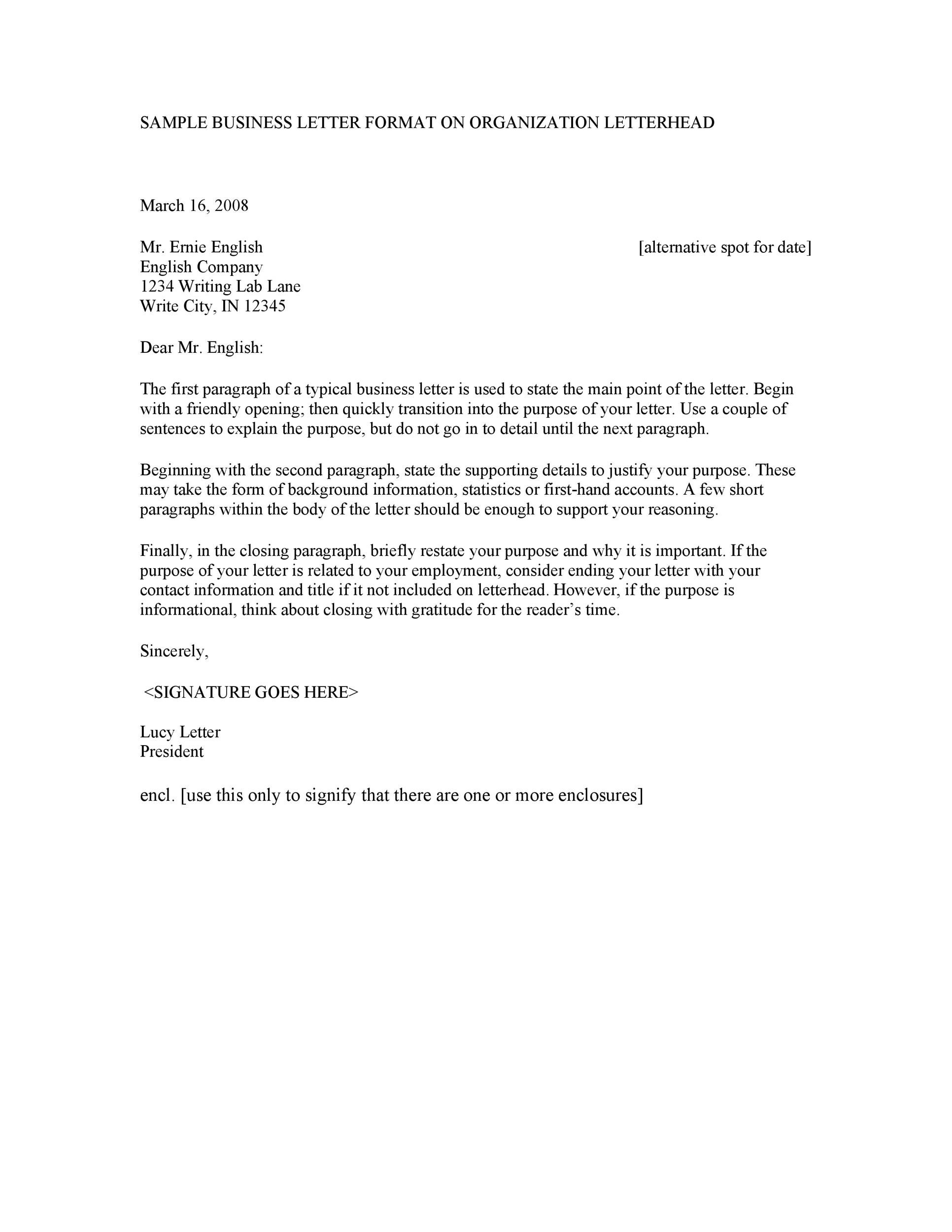 formal business letter examples 35 formal business letter format templates amp examples ᐅ 8766