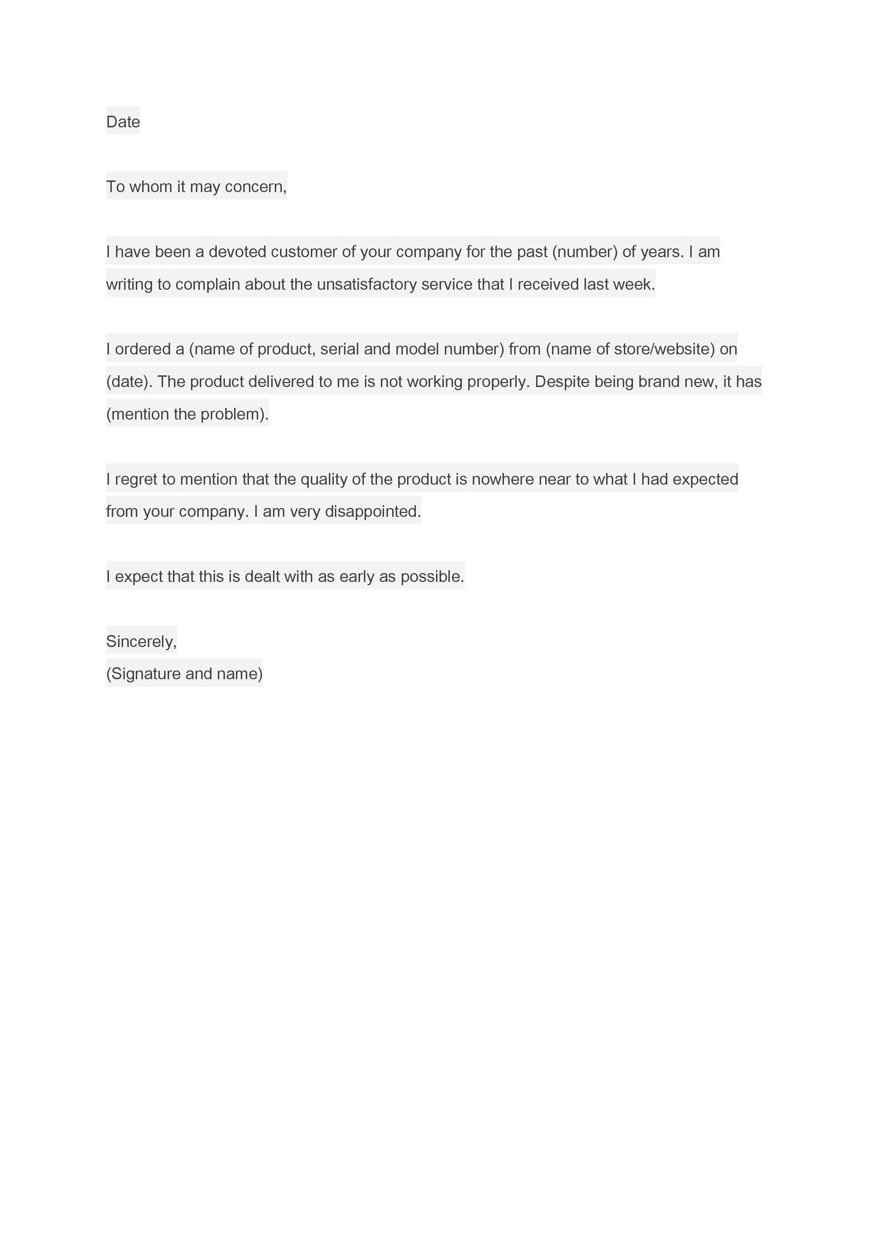 free formal business letter 34