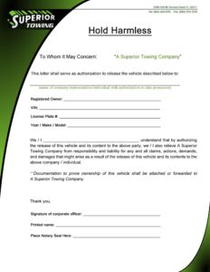 hold harmless agreement template 26