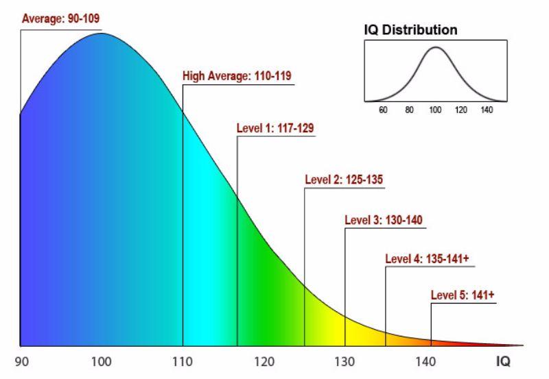 Free IQ Chart 12