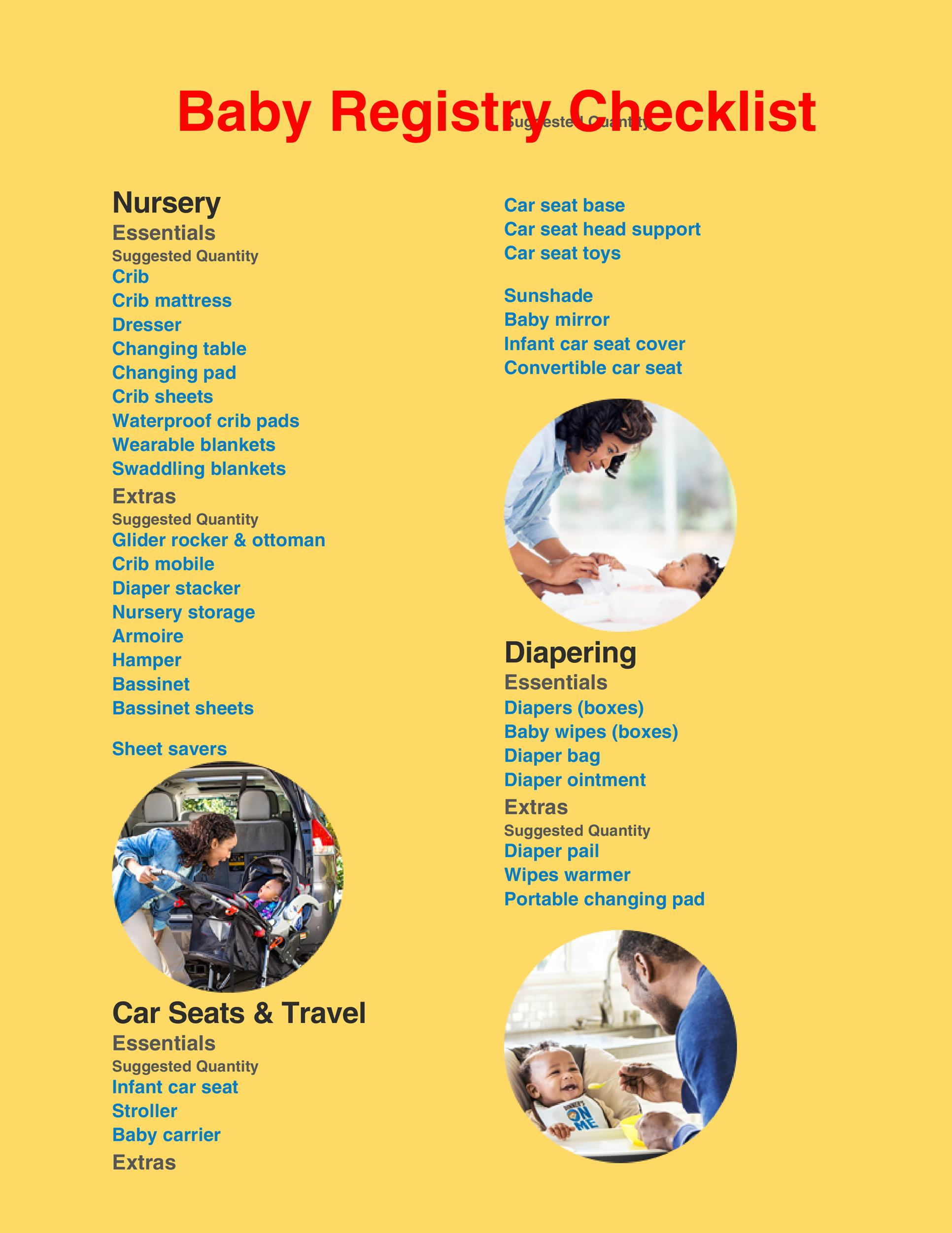 Free Baby Registry Checklist 02