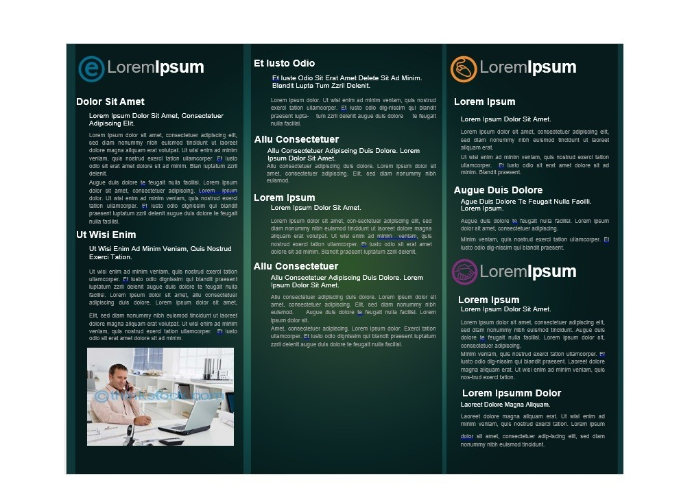 Word Templates Brochure 28 Images Lawn Mowing Service Brochure