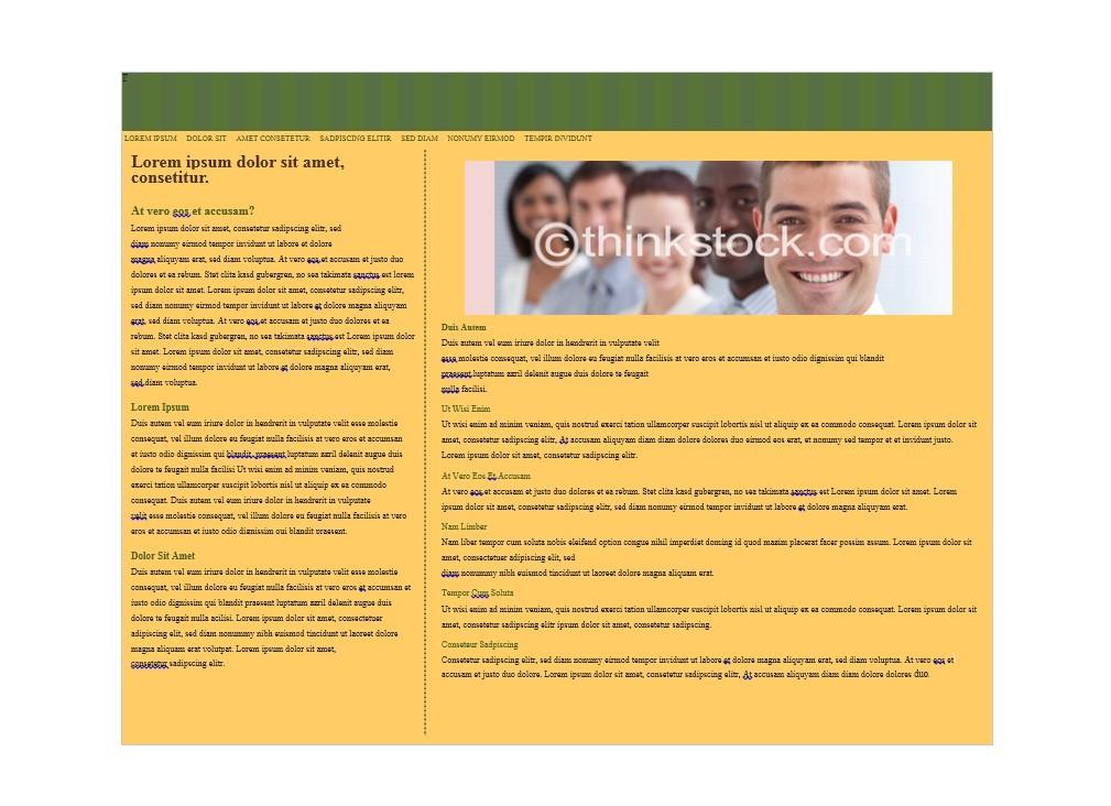 Free Brochure Template 06