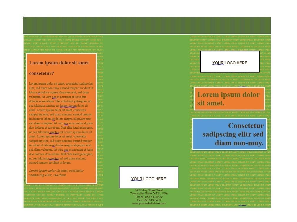 Free Brochure Template 07