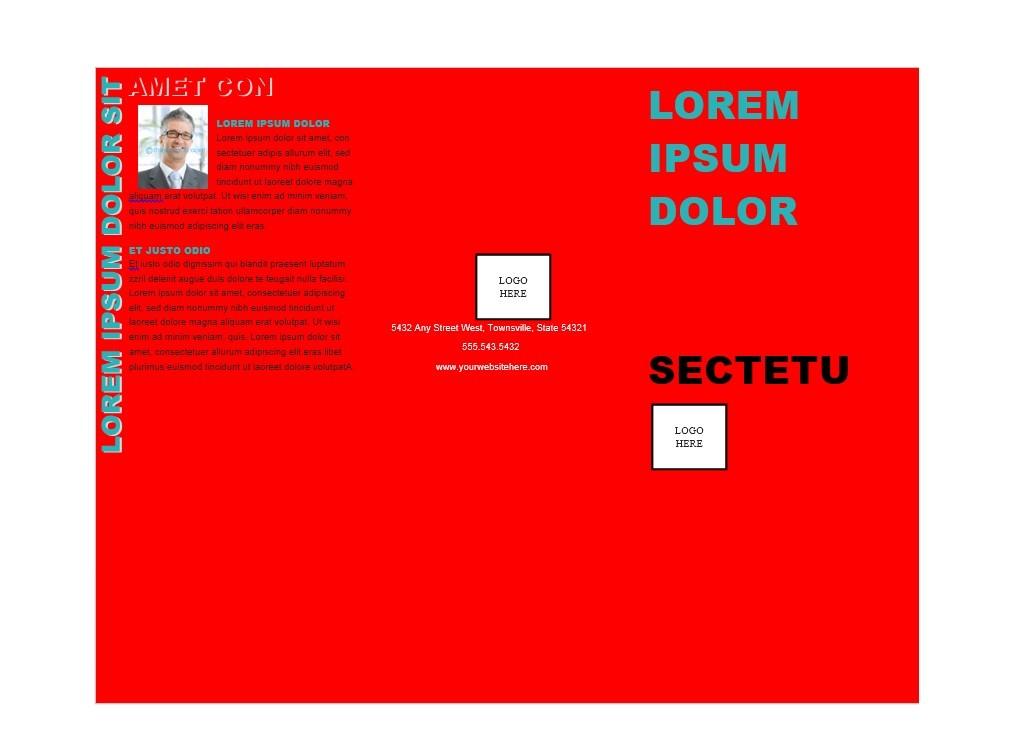 Free Brochure Template 09