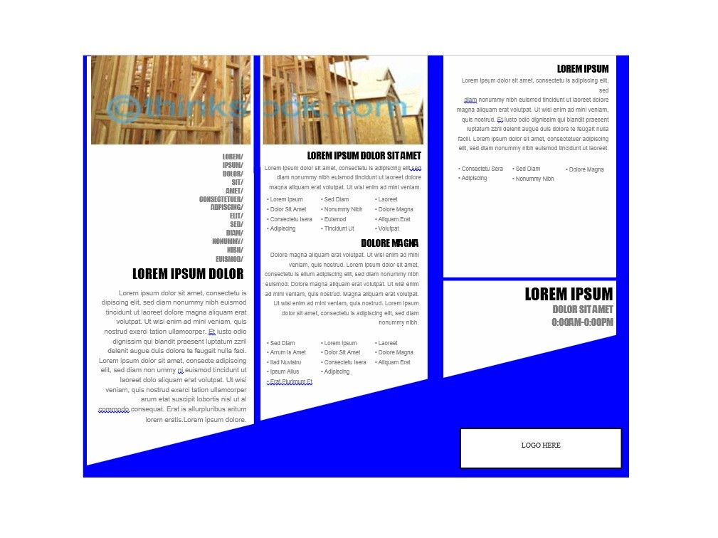 Free Brochure Template 10