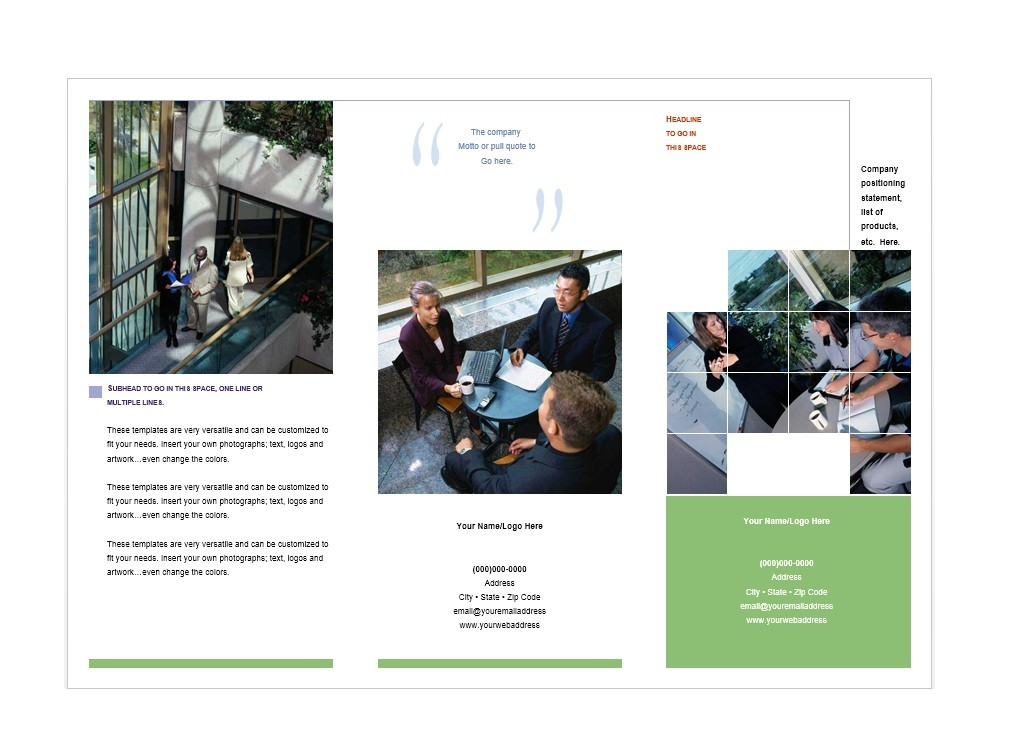 Free Brochure Template 13
