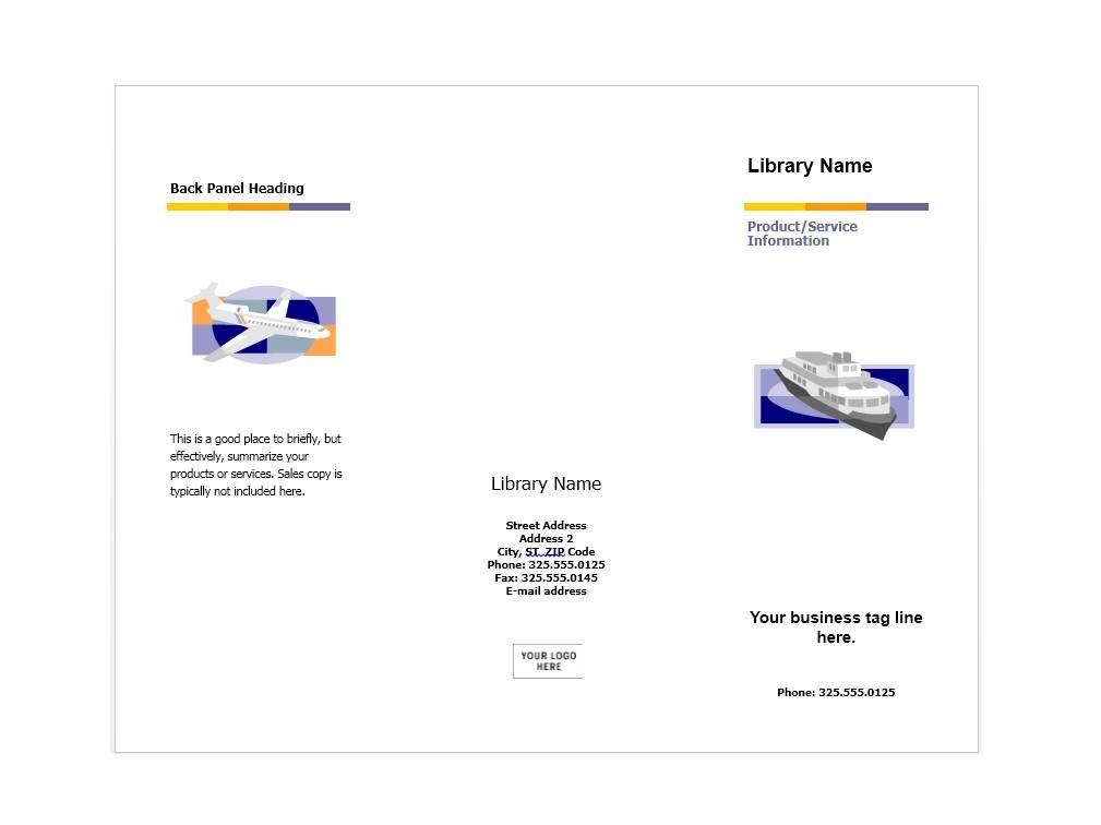 Free Brochure Template 15