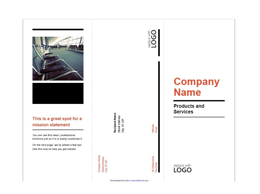 Free Brochure Template 18