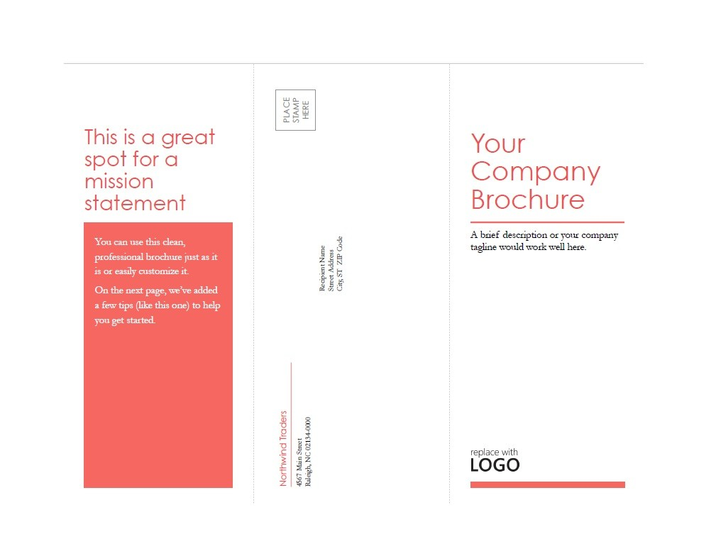 Free Brochure Template 19