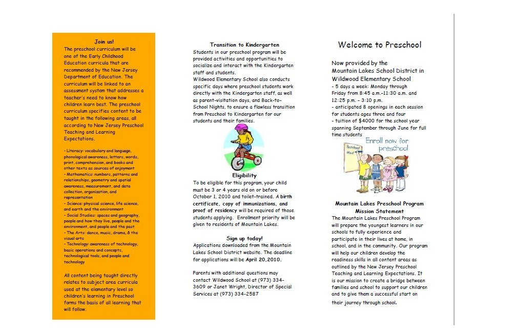 Free Brochure Template 29