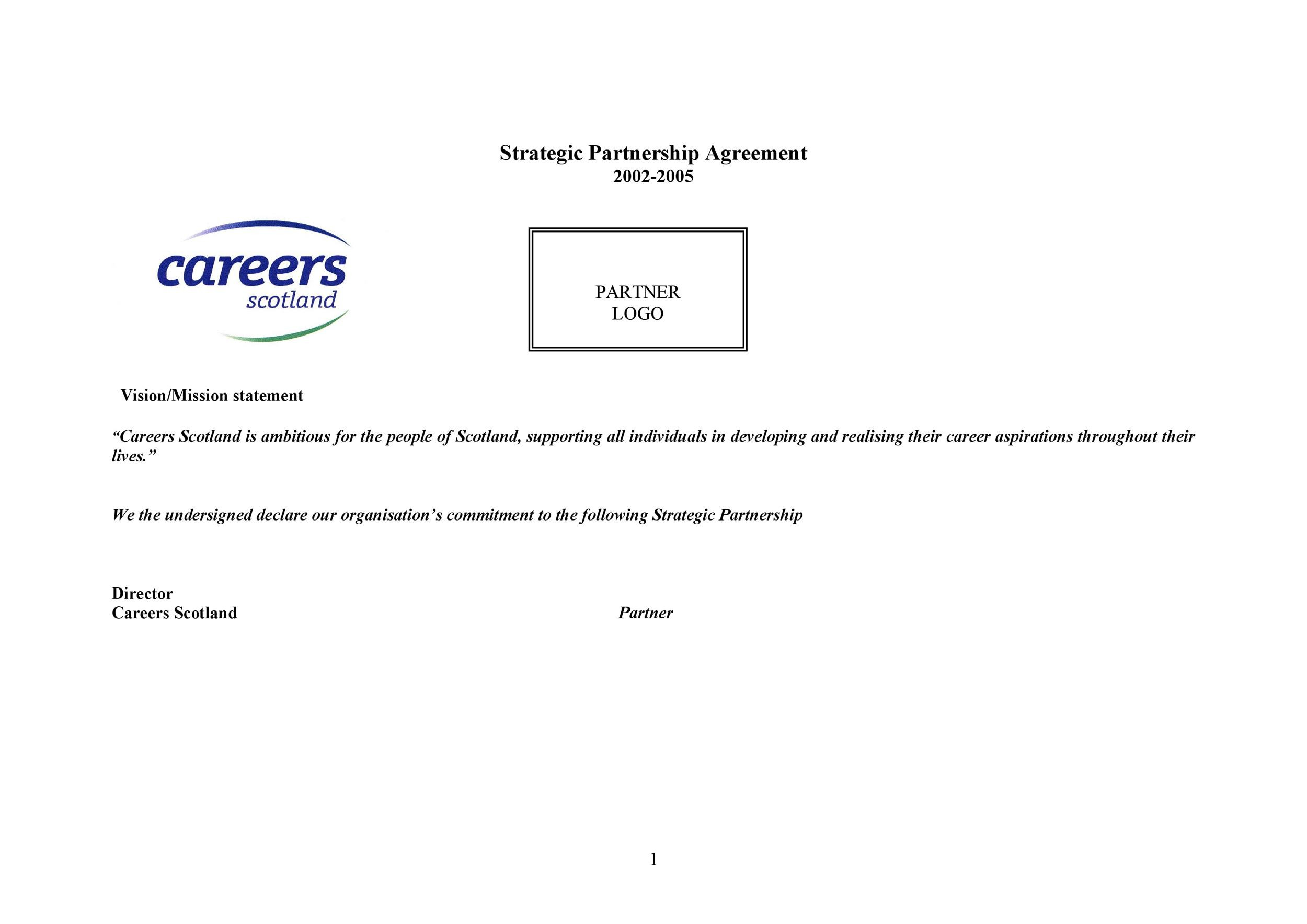 Free Partnership Agreement Template 03