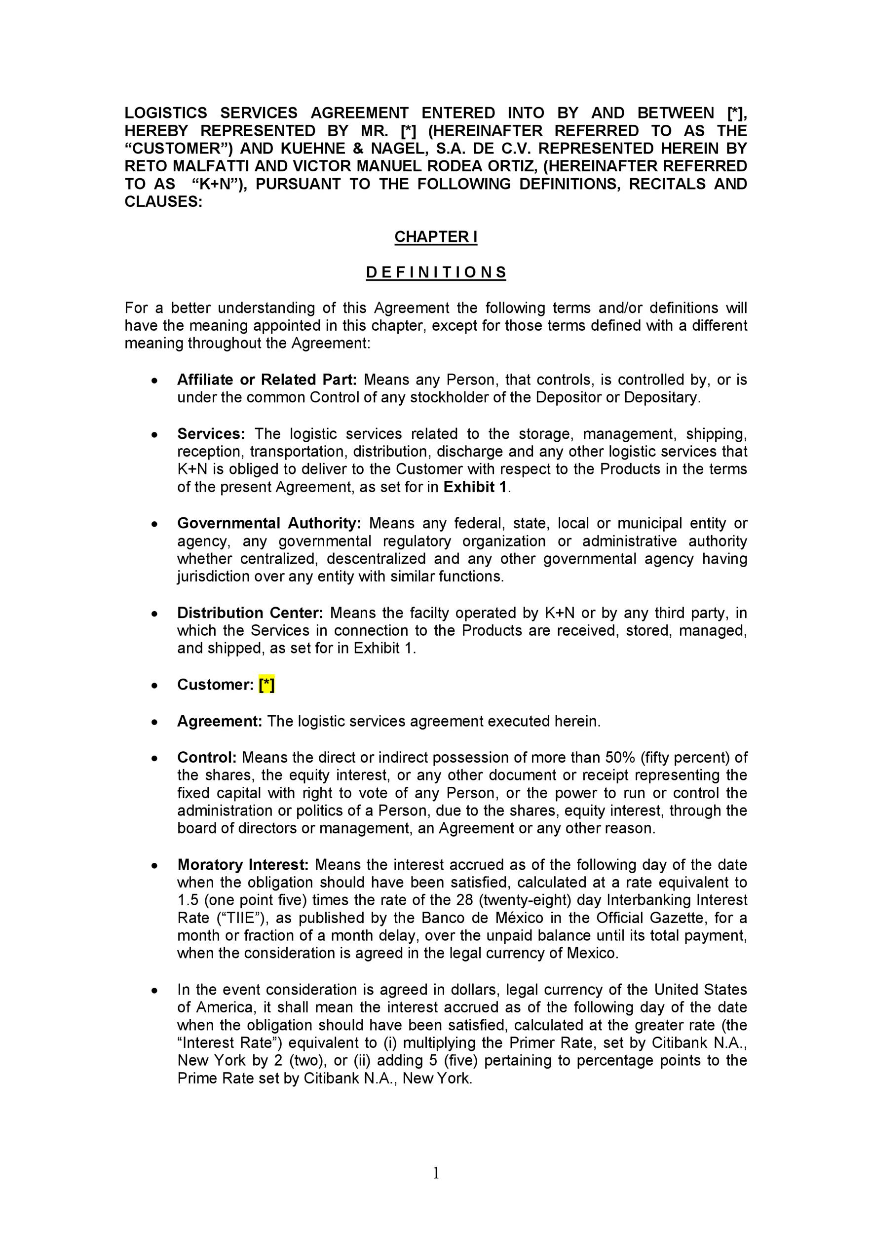 Free Partnership Agreement Template 36