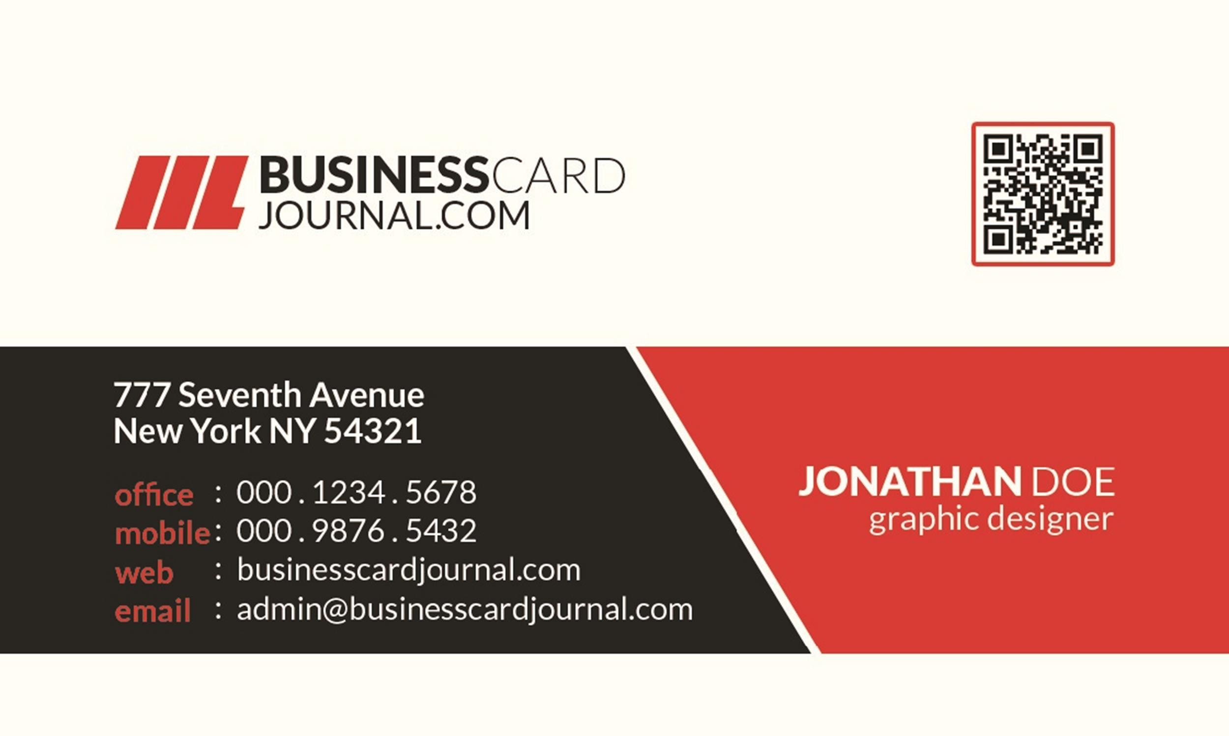 Free business card template 09