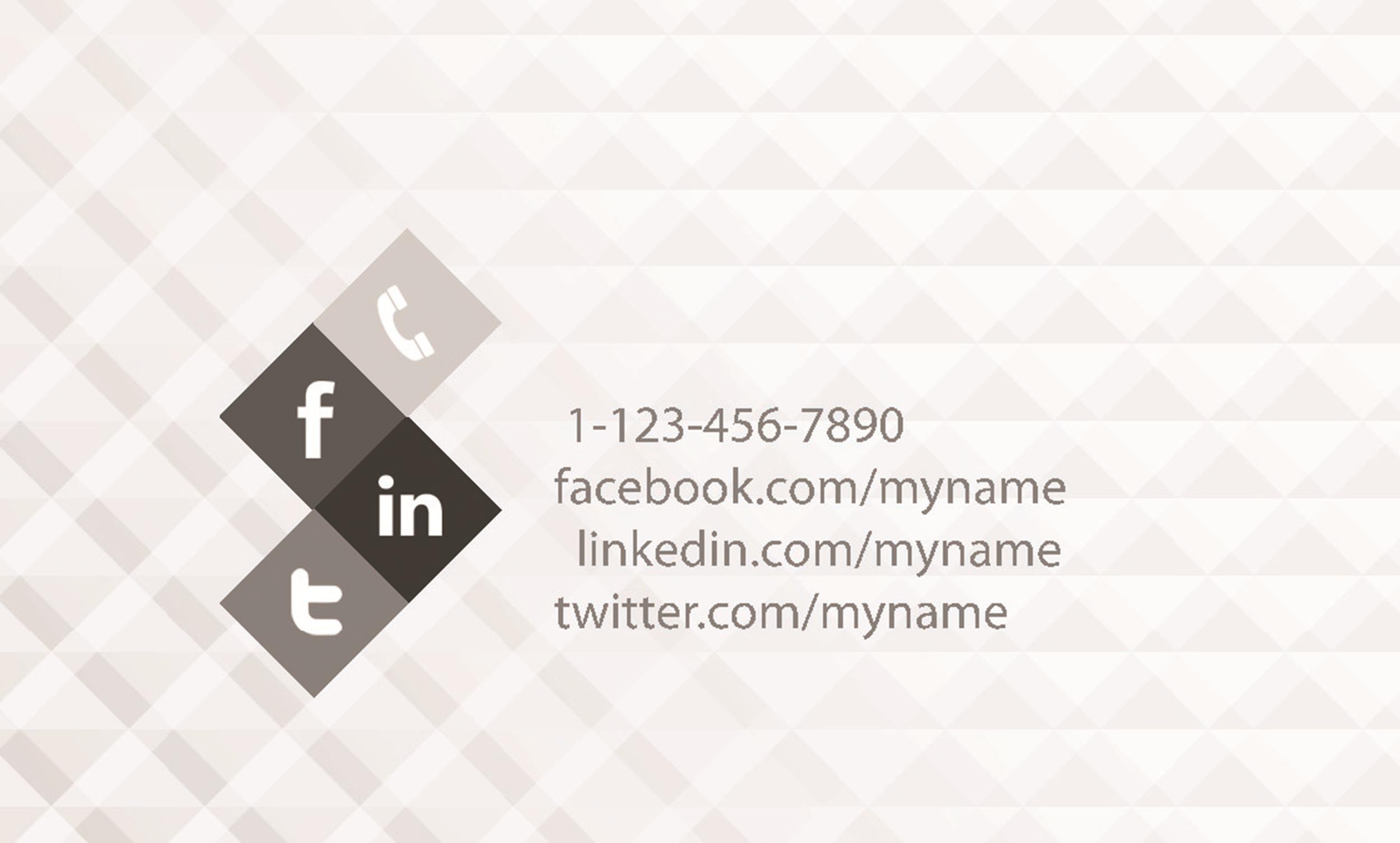 Free business card template 22