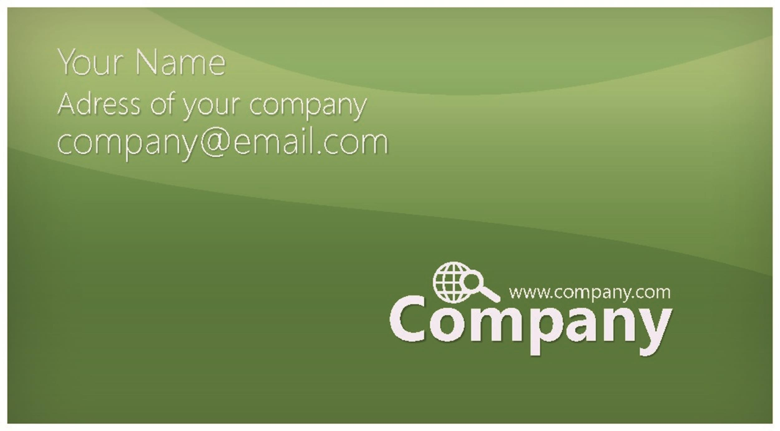 Free business card template 31