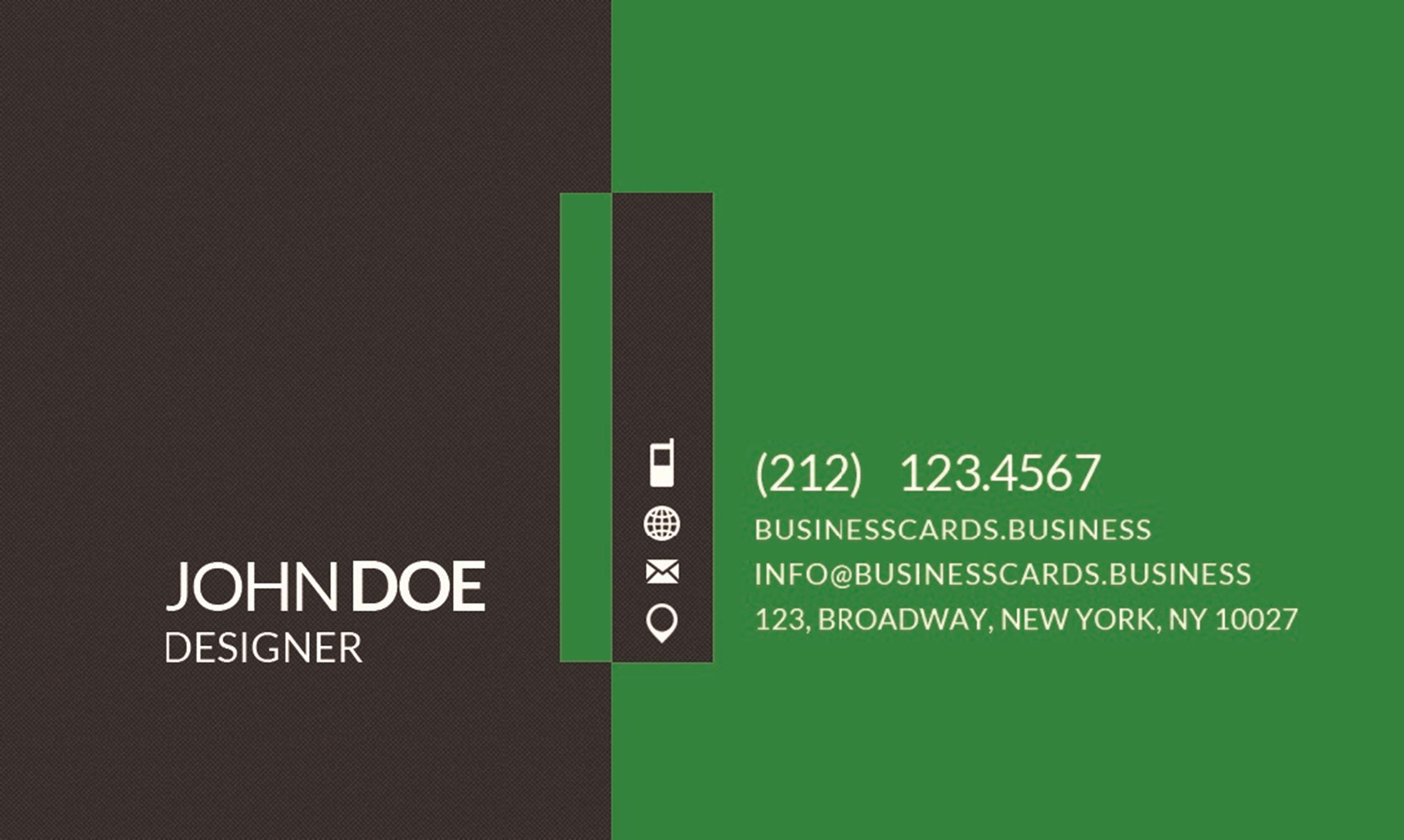 Free business card template 37