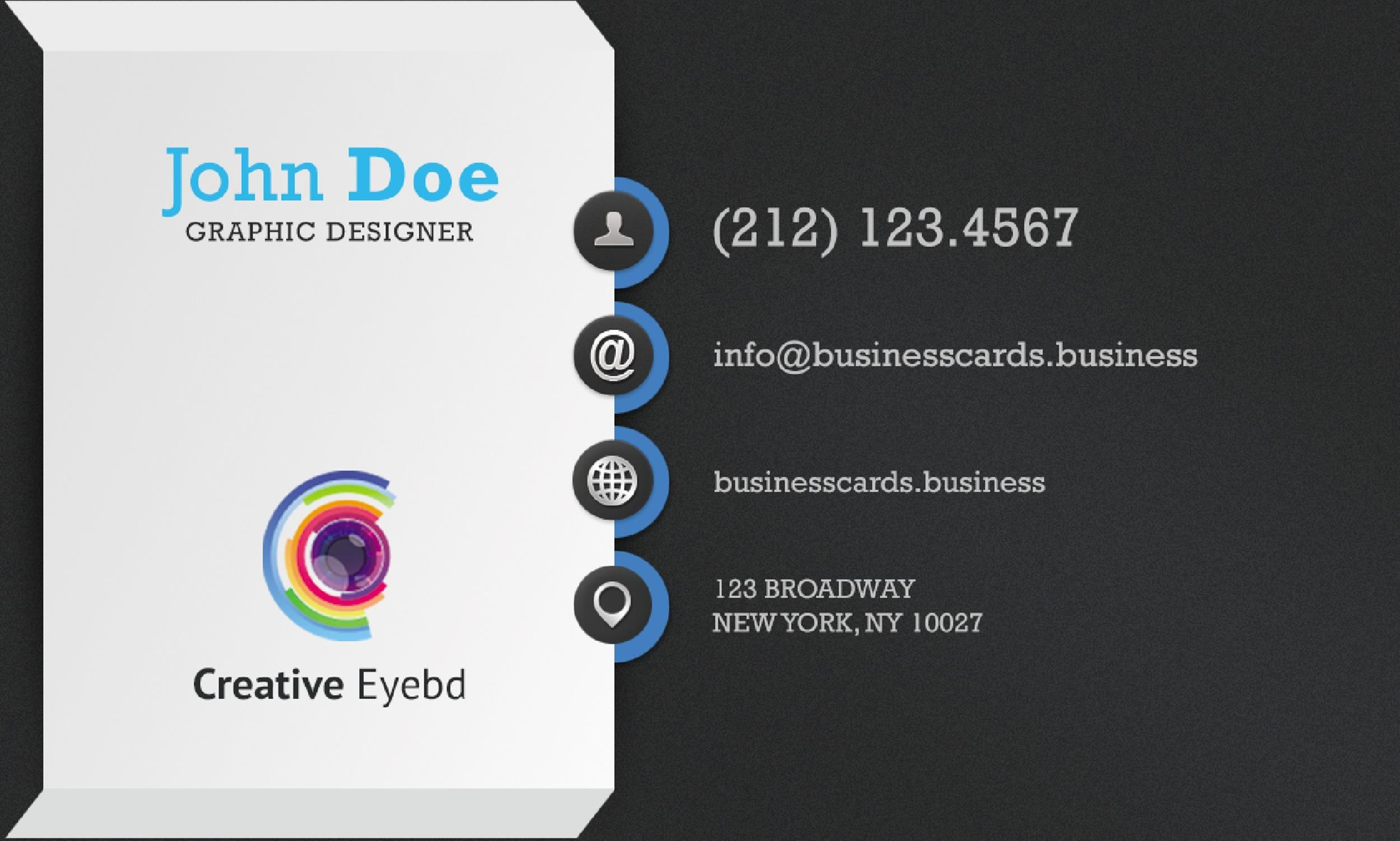 free business card template 39