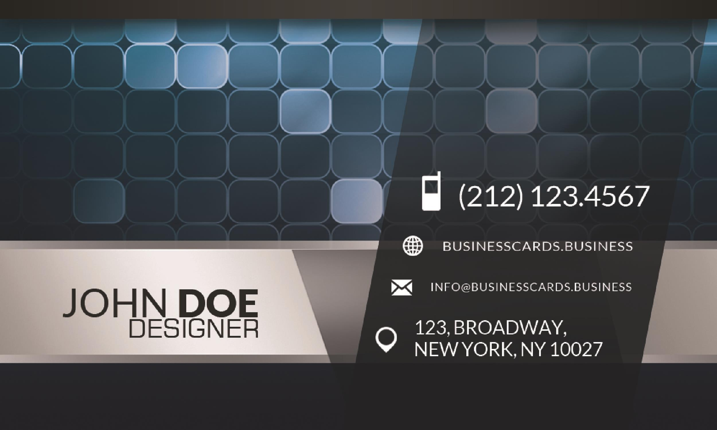 Free business card template 40